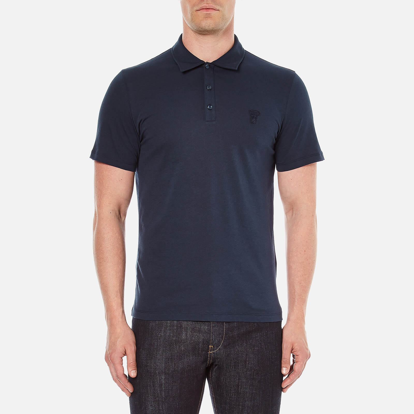 96da0853 Versace Collection Men's Polo Shirt - Blue