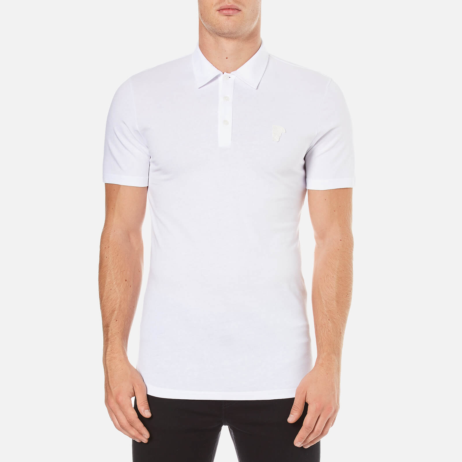 b0bcff6a Versace Collection Men's Polo Shirt - White - Free UK Delivery over £50