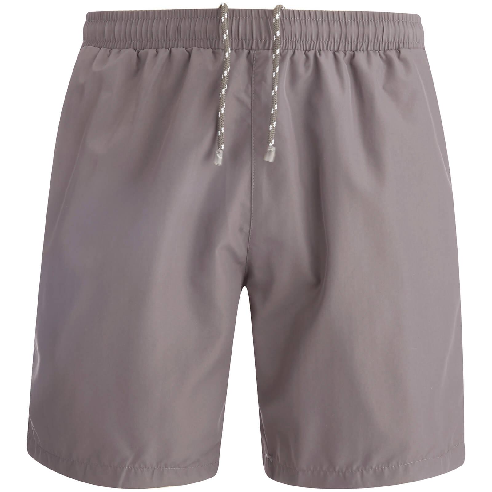 8b8dccfdb0e78 BOSS Hugo Boss Men's Seabream Swim Shorts - Dark Grey - Free UK Delivery  over £50