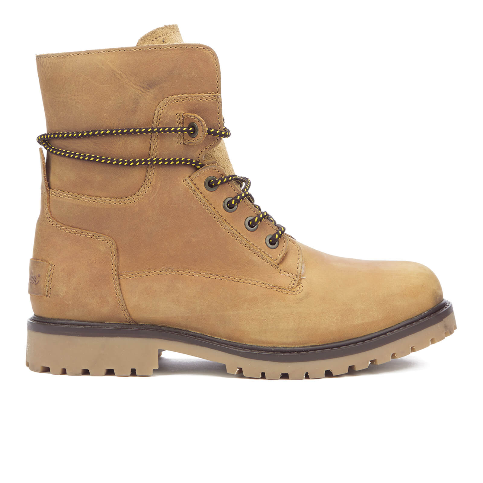 Bottines Homme Aviator Roll Down Wrangler -Camel