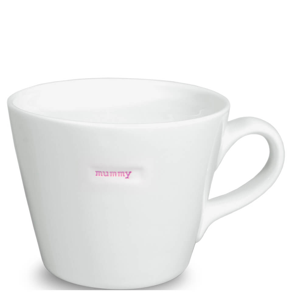 Keith Brymer Jones Bucket Mummy Mug - White