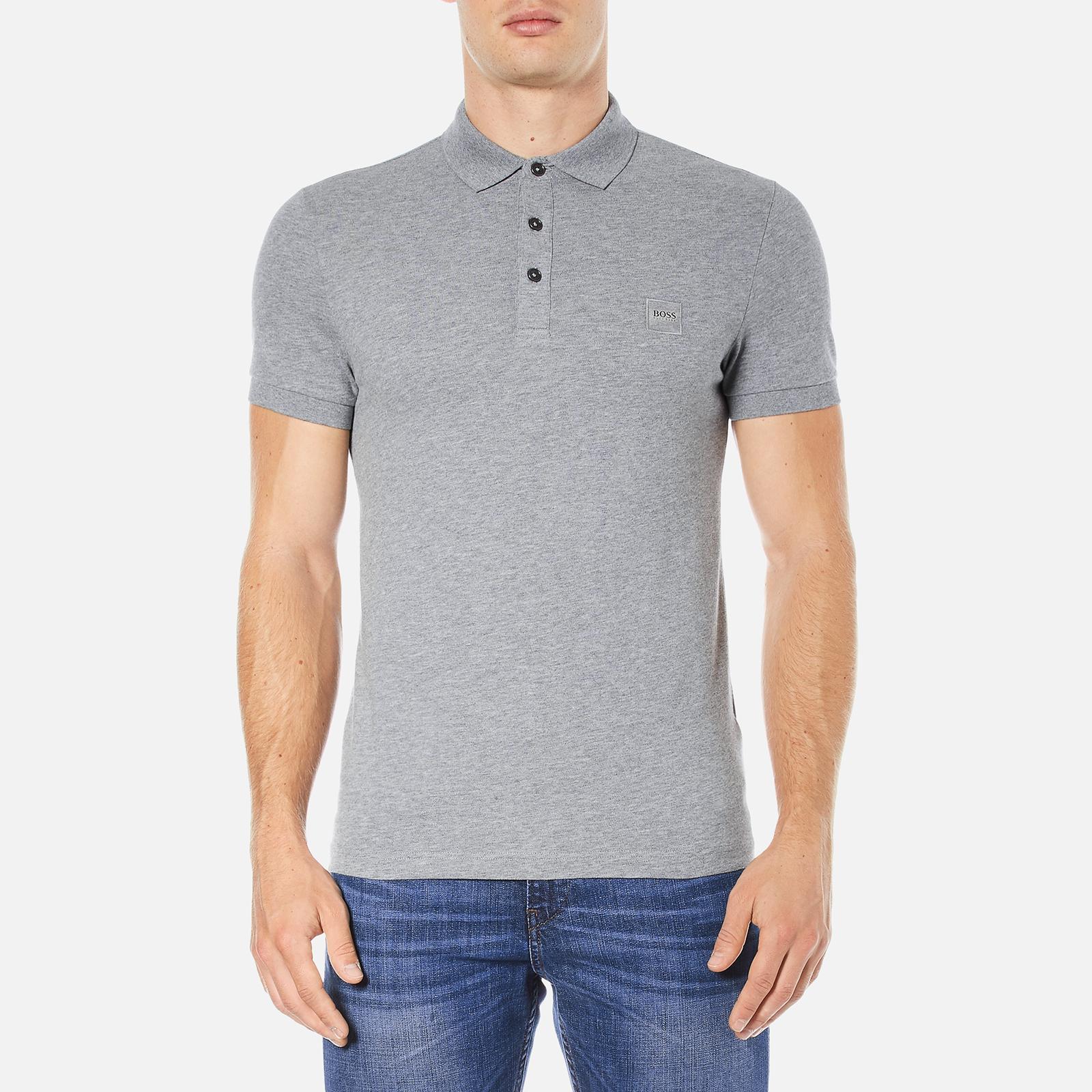 2a8d5abe9 BOSS Orange Men's Pavlik Polo Shirt - Grey - Free UK Delivery over £50