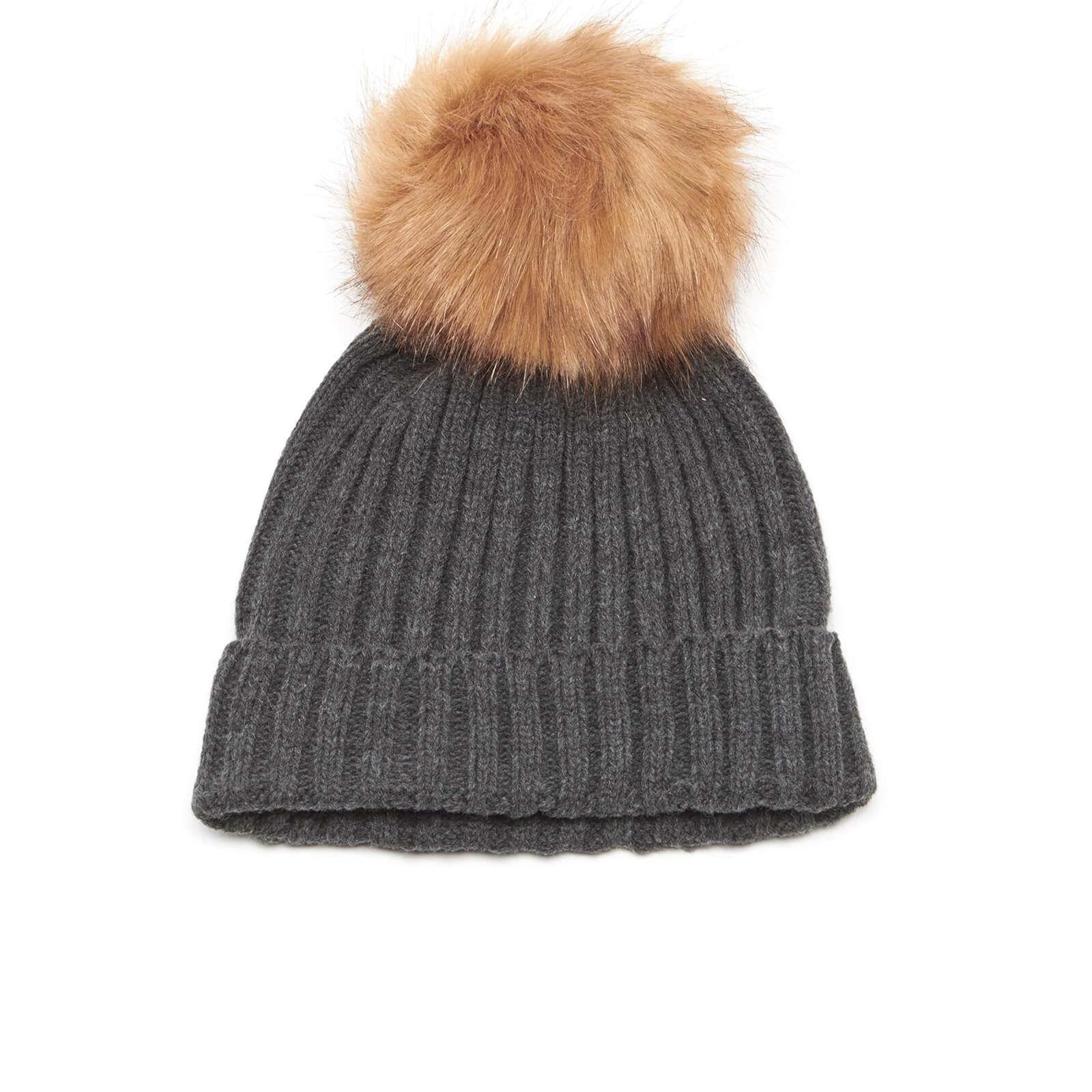 57fae2373 Vero Moda Women's Sidse Beanie Hat - Dark Grey Melange