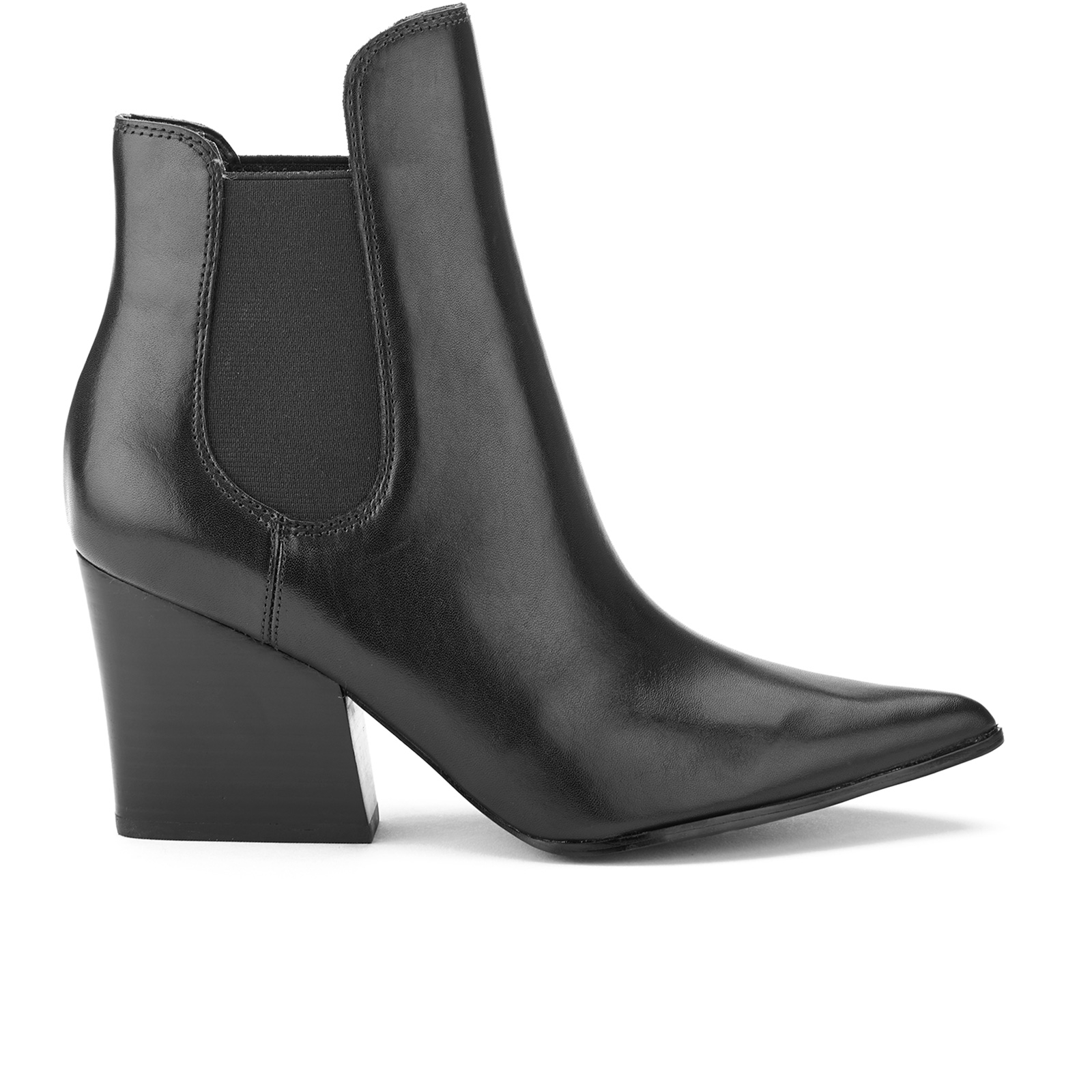 b70a7268c Kendall + Kylie Women's Finley Leather Heeled Chelsea Boots - Black | FREE  UK Delivery | Allsole