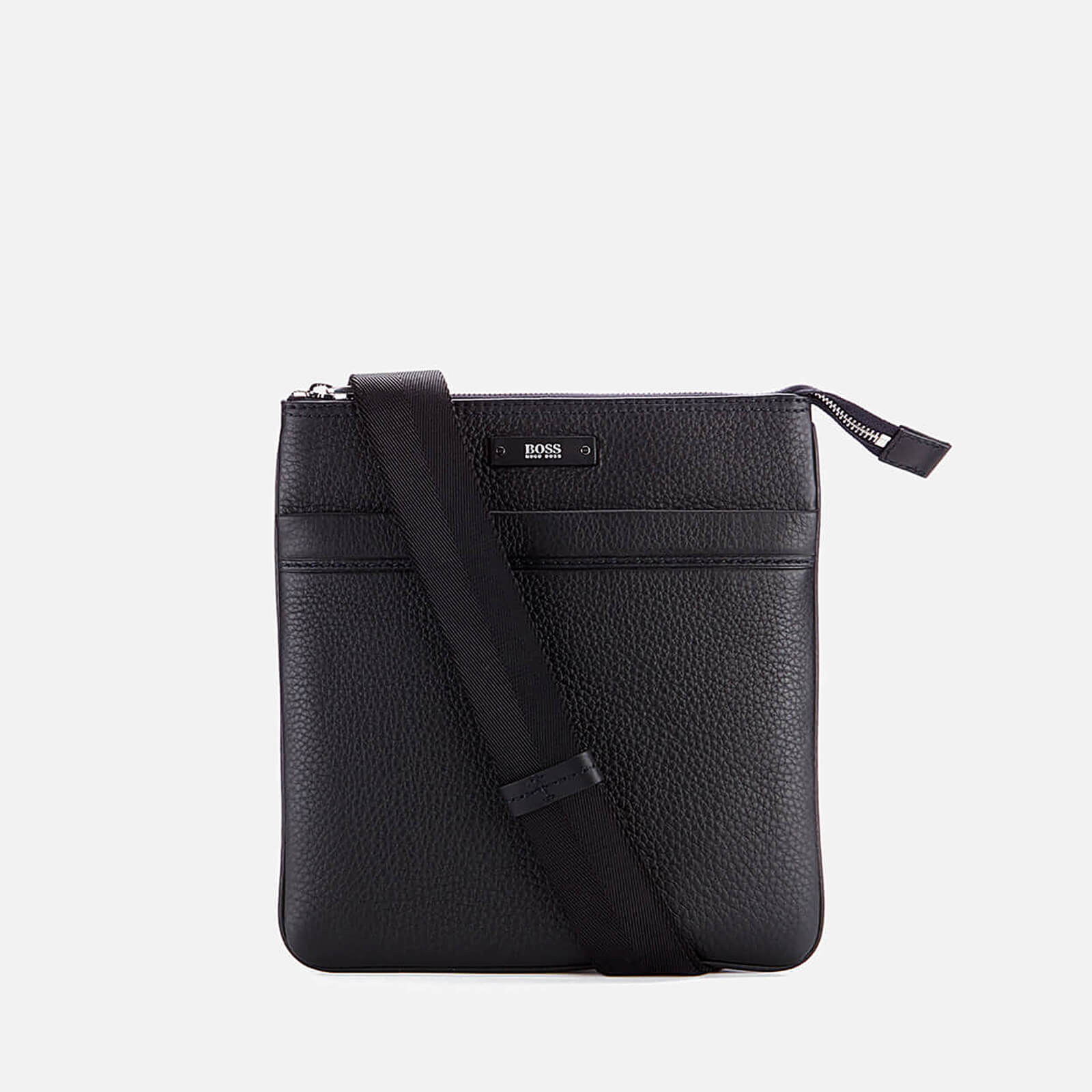 074ca8d6218 BOSS Traveller Zip Cross Body Bag - Black Mens Accessories