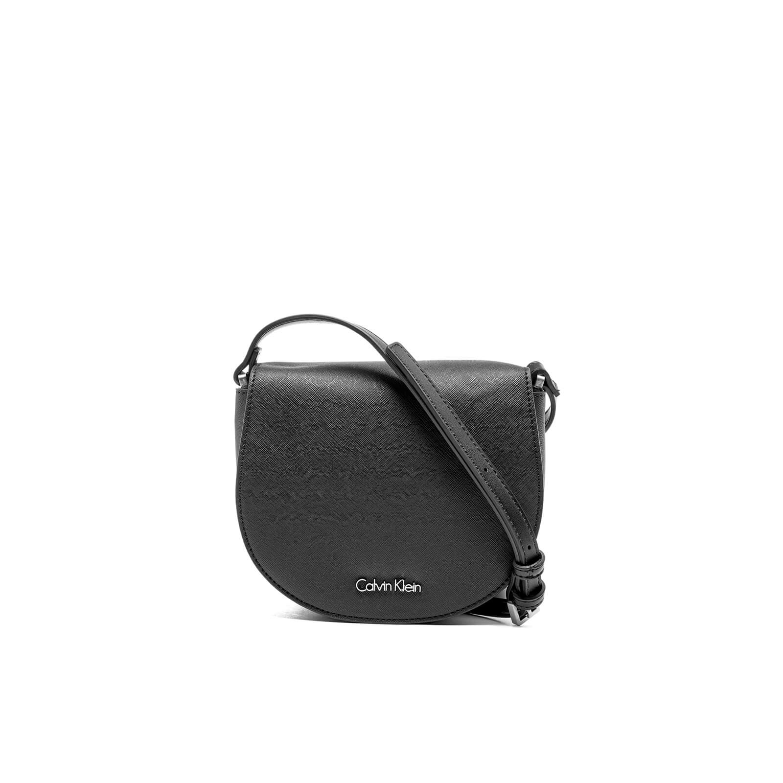1e4b034f28 Calvin Klein Women's Marissa Saddle Bag - Black Womens Accessories |  TheHut.com