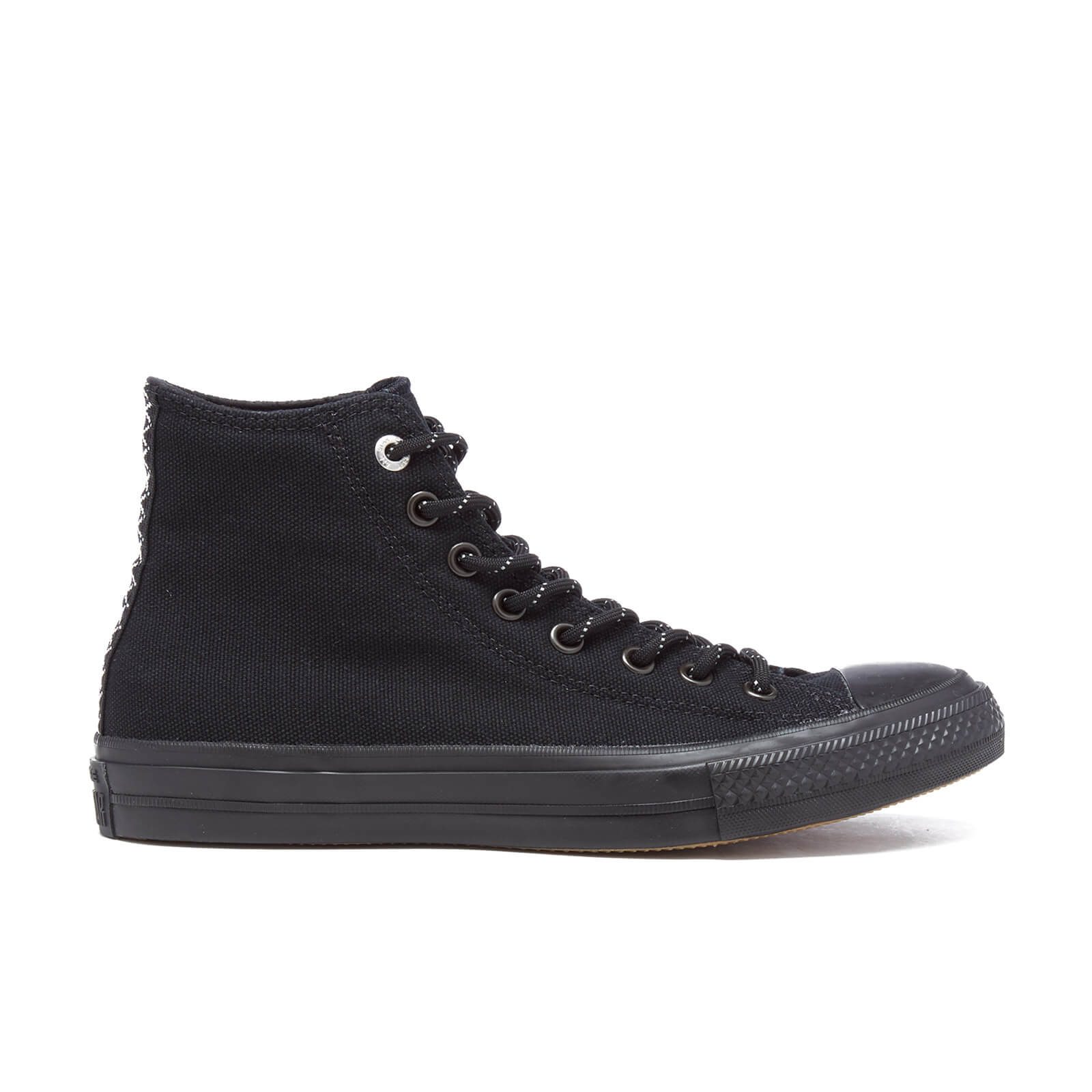 641f7b3efd00 Converse Men s Chuck Taylor All Star II Shield Canvas Hi-Top Trainers -  Black Gum - Free UK Delivery over £50