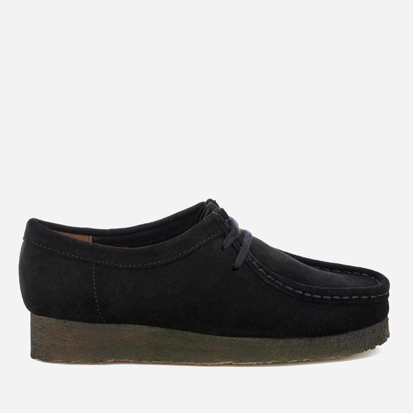 the latest ea408 f67f2 Clarks Originals Women's Wallabee Shoes - Black Suede