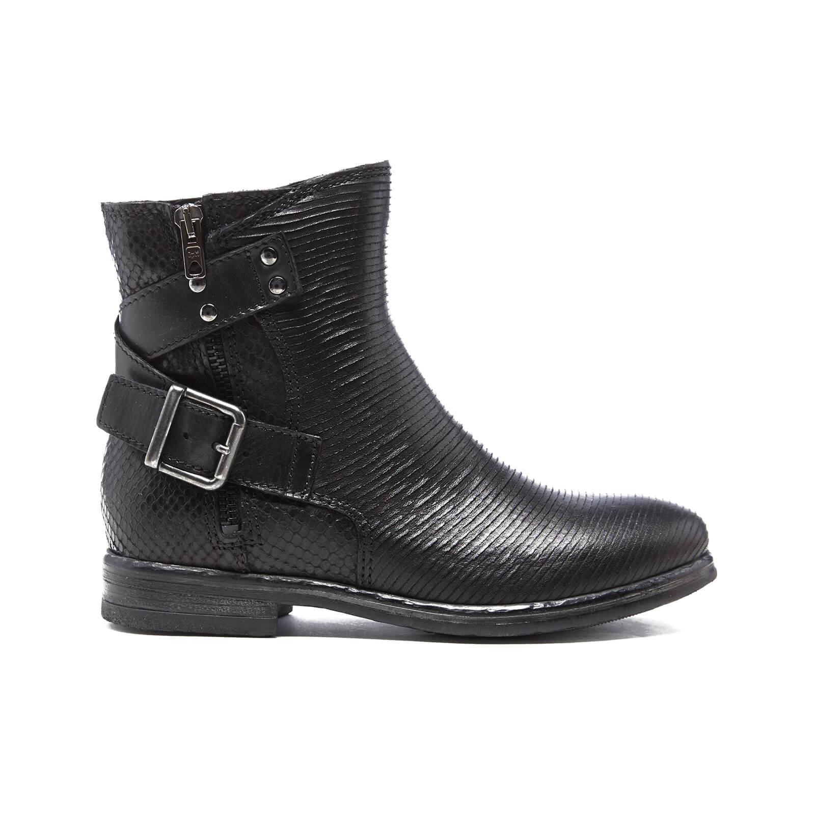 9b86300d92c Clarks Women's Sicilly Dove Leather Biker Boots - Black