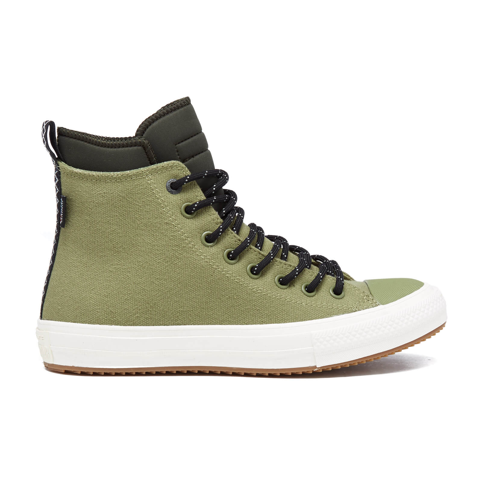 d8e6b88e6293 Converse Men s Chuck Taylor All Star II Shield Canvas Hi-Top Trainers -  Fatigue Green Green Onyn Egret Mens Footwear