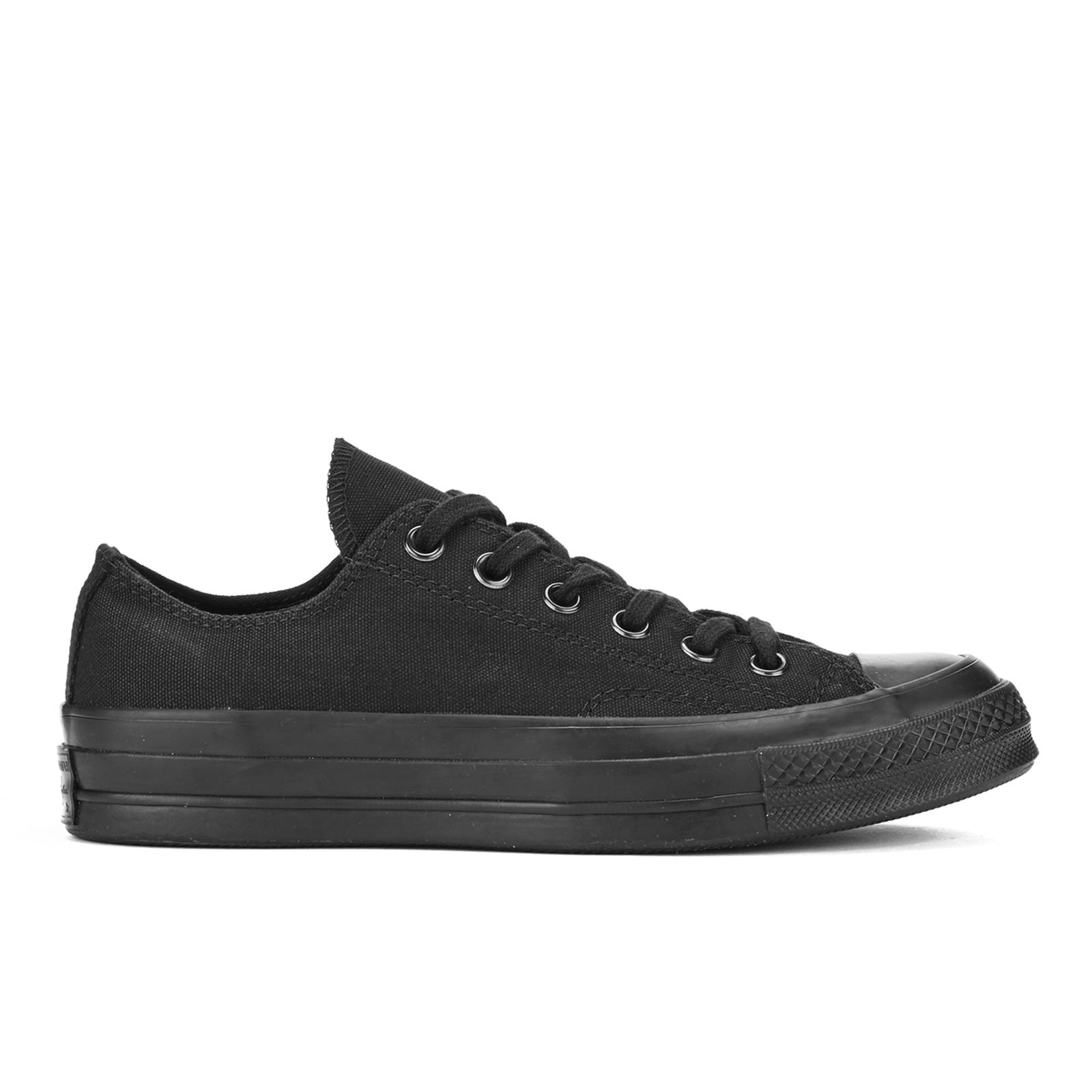 Converse Chuck Taylor All Star  70 Vintage Canvas Low Top Trainers - Black  Monochrome - Free UK Delivery over £50 276e22841