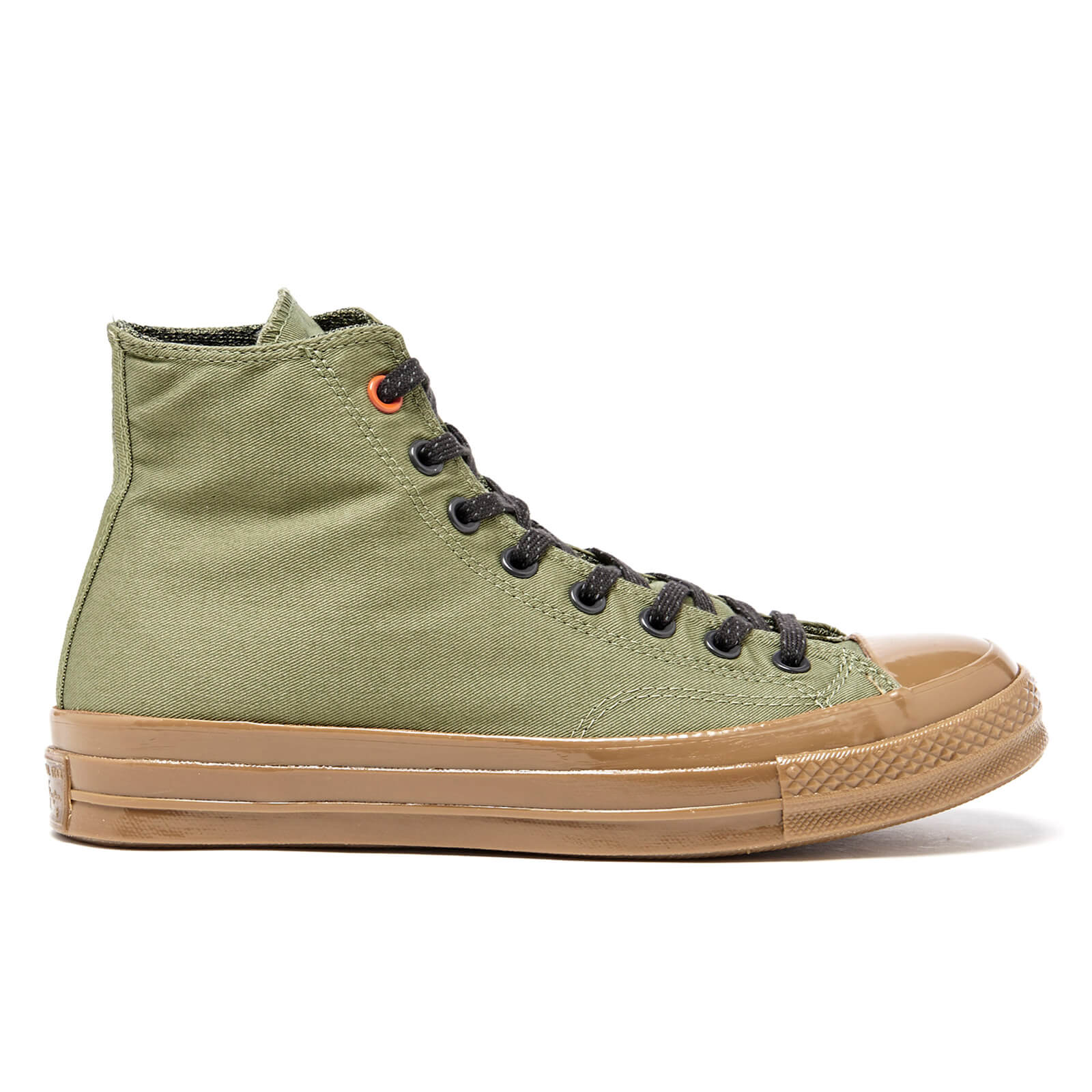 79ad5fdd92a1 Converse Men s Chuck Taylor All Star  70 Hi-Top Trainers - Fatigue Green Almost  Black Gum - Free UK Delivery over £50