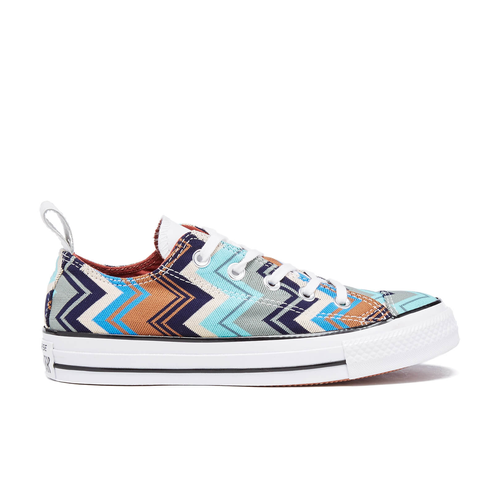 402d66abdae9 Converse X Missoni Women's Chuck Taylor All Star Ox Trainers - Multi/Egret/Black  - Free UK Delivery over £50