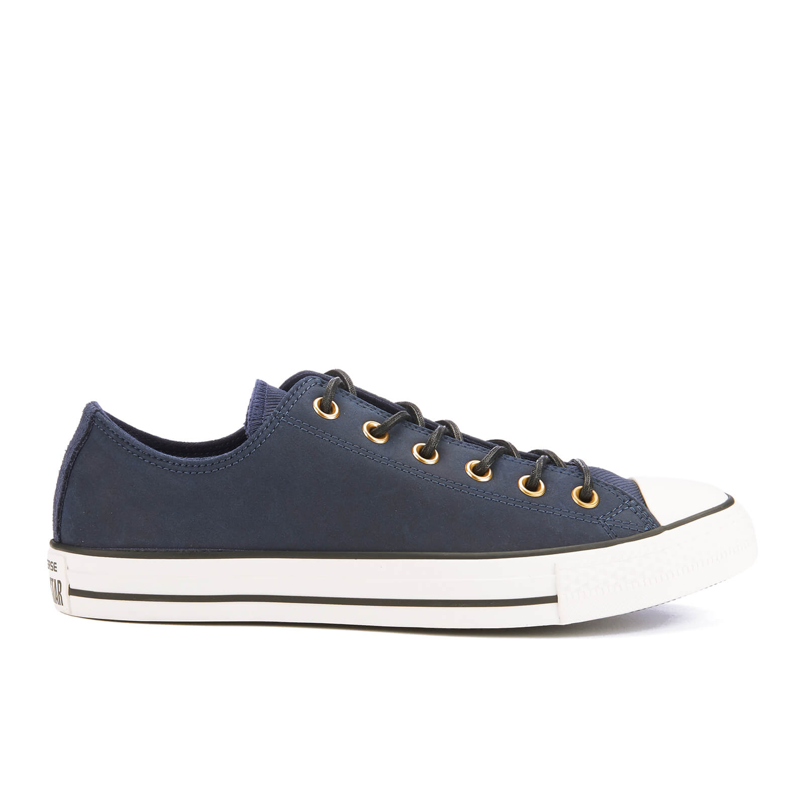 size 40 factory outlets Good Prices Converse Men's Chuck Taylor All Star Leather/Corduroy Ox Trainers -  Obsidian/Egret/Black