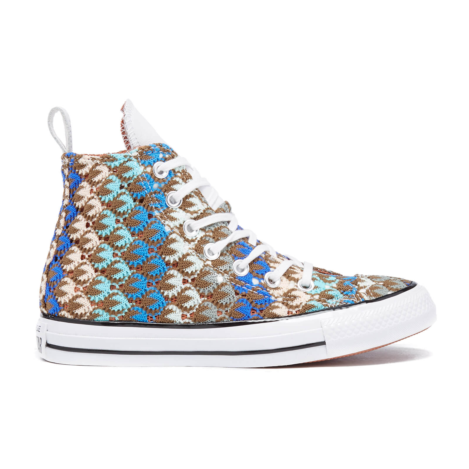 5a1c870b4376 Converse X Missoni Women s Chuck Taylor All Star Hi-Top Trainers -  Multi White Black - Free UK Delivery over £50