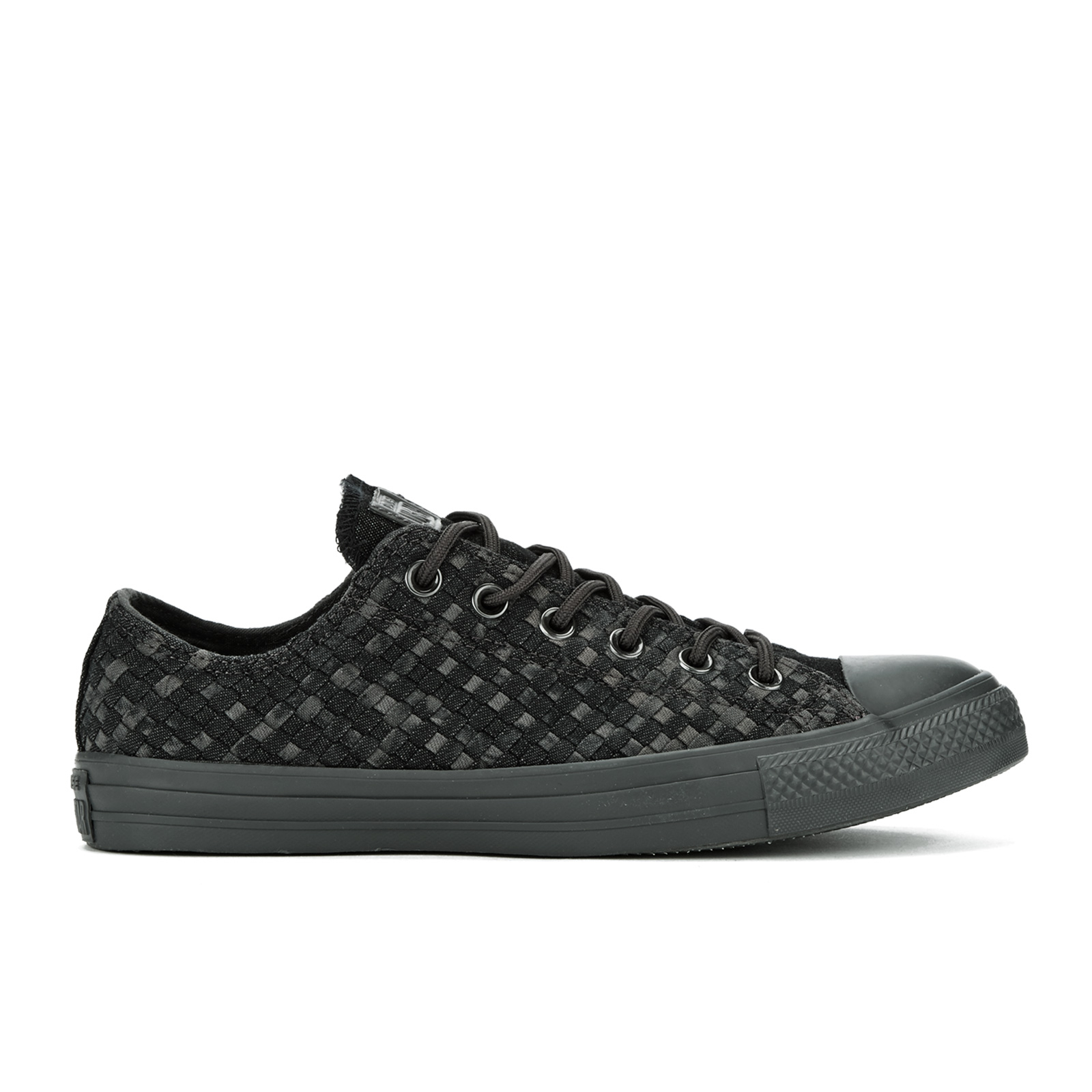 2546f4a6e63f Converse Men s Chuck Taylor All Star Denim Woven Ox Trainers - Black Storm  Wind Storm Wind - Free UK Delivery over £50