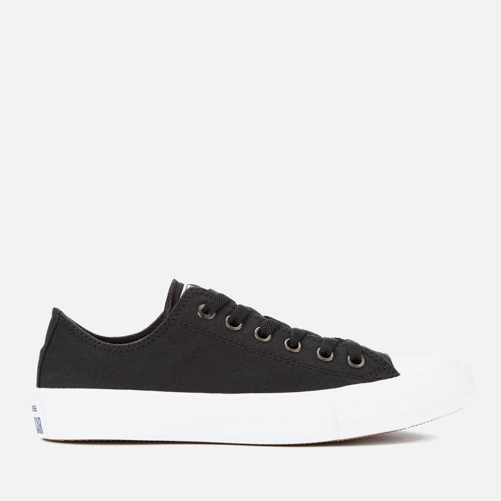 85acfae0970d Converse Chuck Taylor All Star II Ox Trainers - Black White Navy - Free UK  Delivery over £50