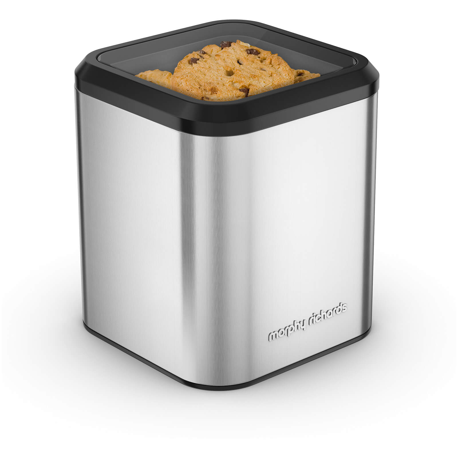 Morphy Richards 970253 Equip Biscuit Barrel - Stainless Steel