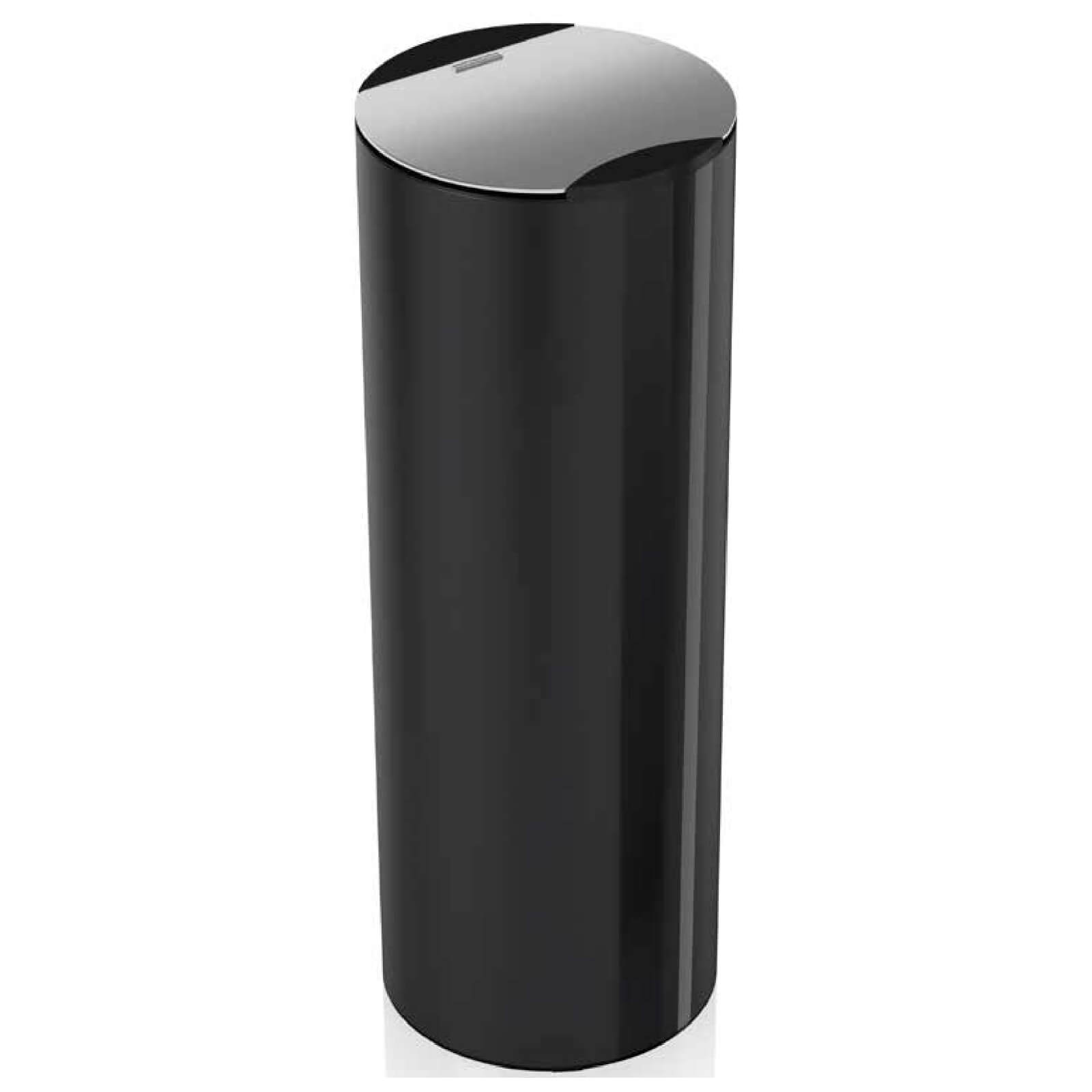 Morphy Richards 972173 Aspect 50L Round Sensor Bin - Black