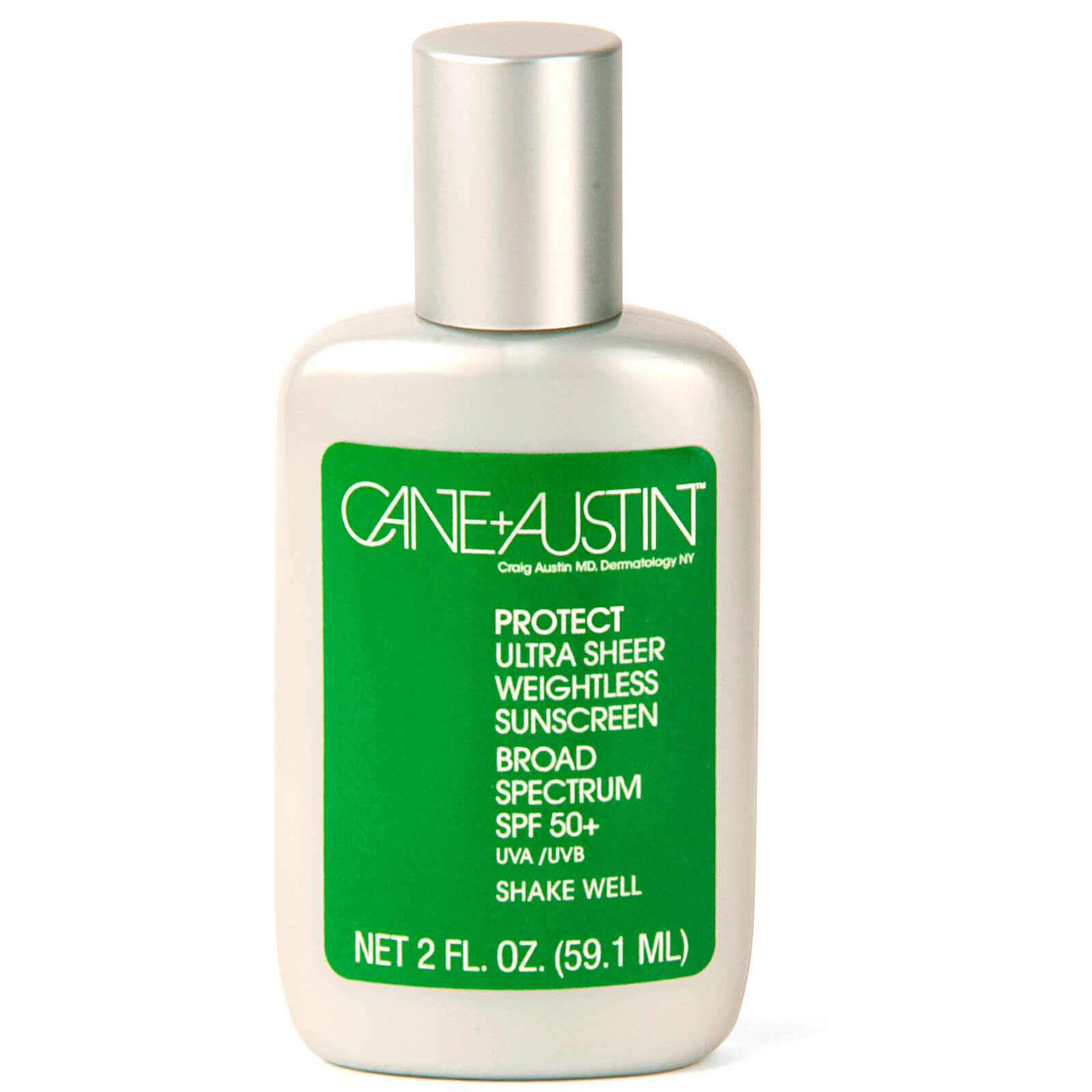 Cane and Austin Ultra Sheer Weightless Sunscreen SPF 50