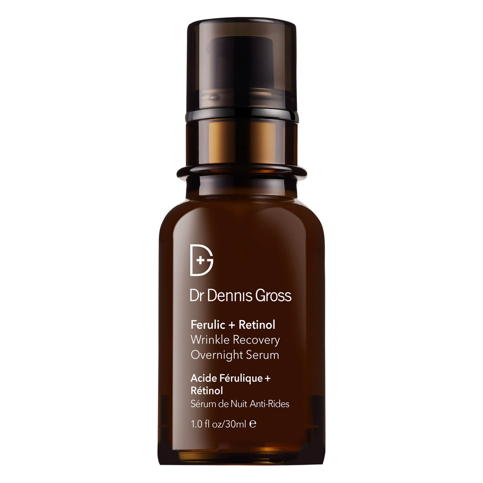 Dr Dennis Gross Skincare Ferulic and Retinol Wrinkle Recovery Overnight Serum 30ml