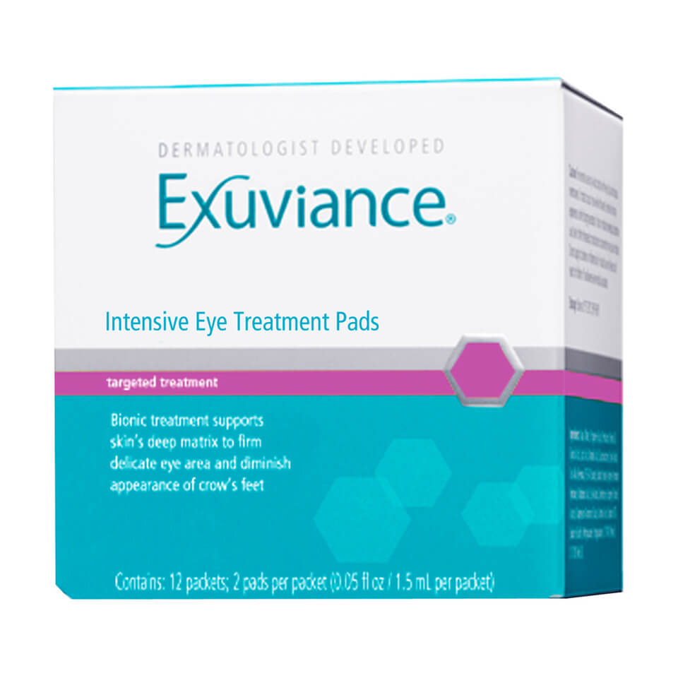 exuviance intensive eye treatment pads