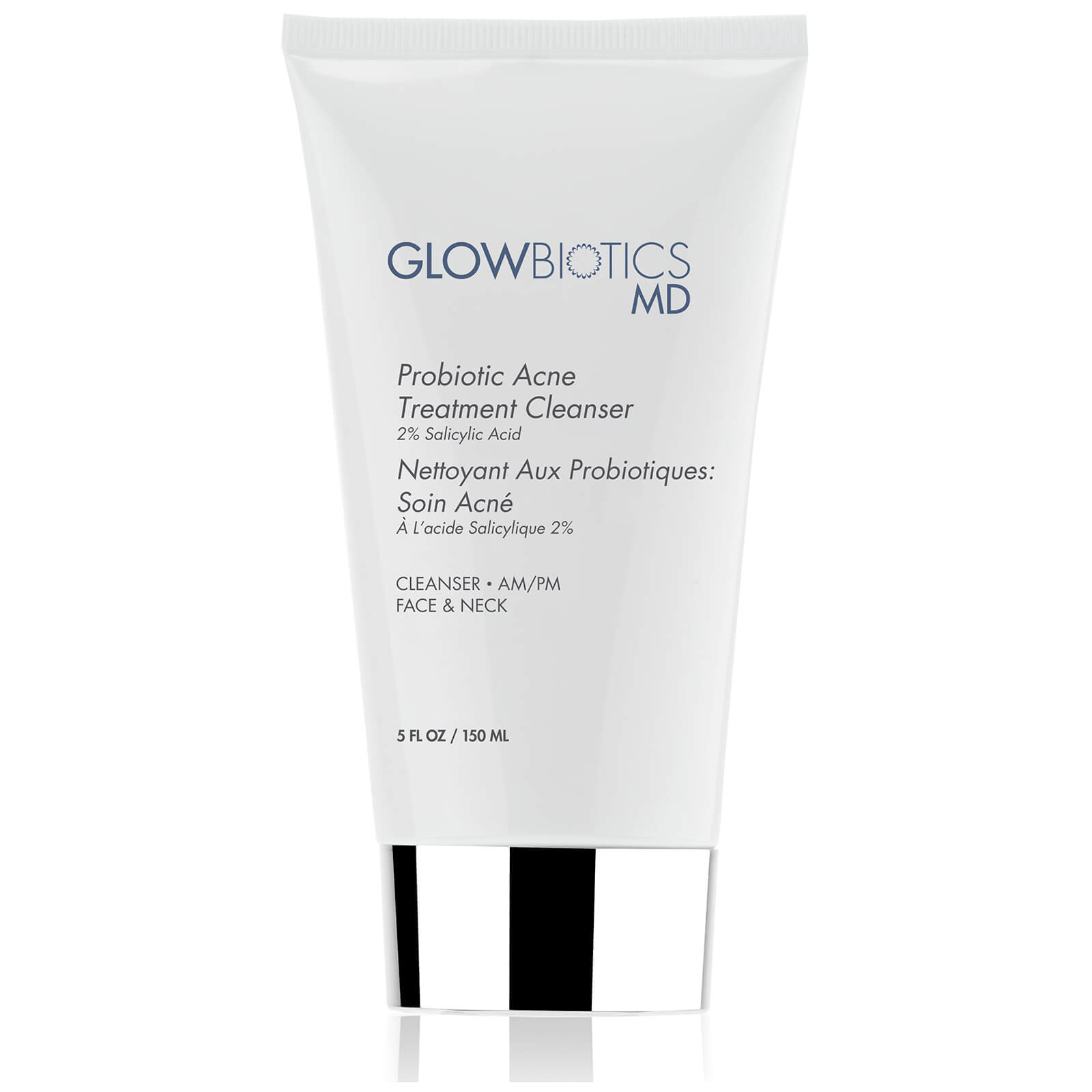 Glowbiotics MD Probiotic Acne Treatment Cleanser (2% Salicylic Acid)