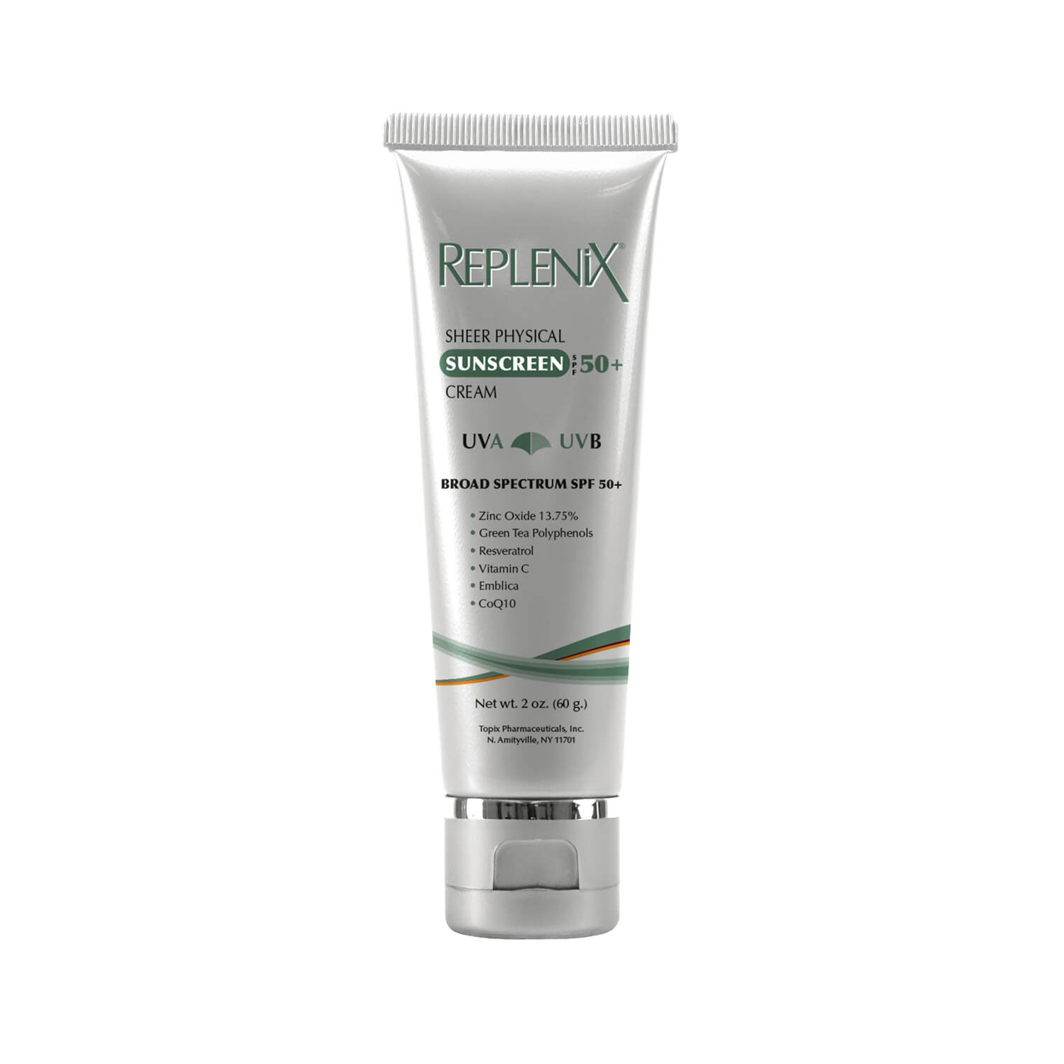 a00a346df13 Replenix Sheer Physical Sunscreen Cream SPF 50 | SkinStore