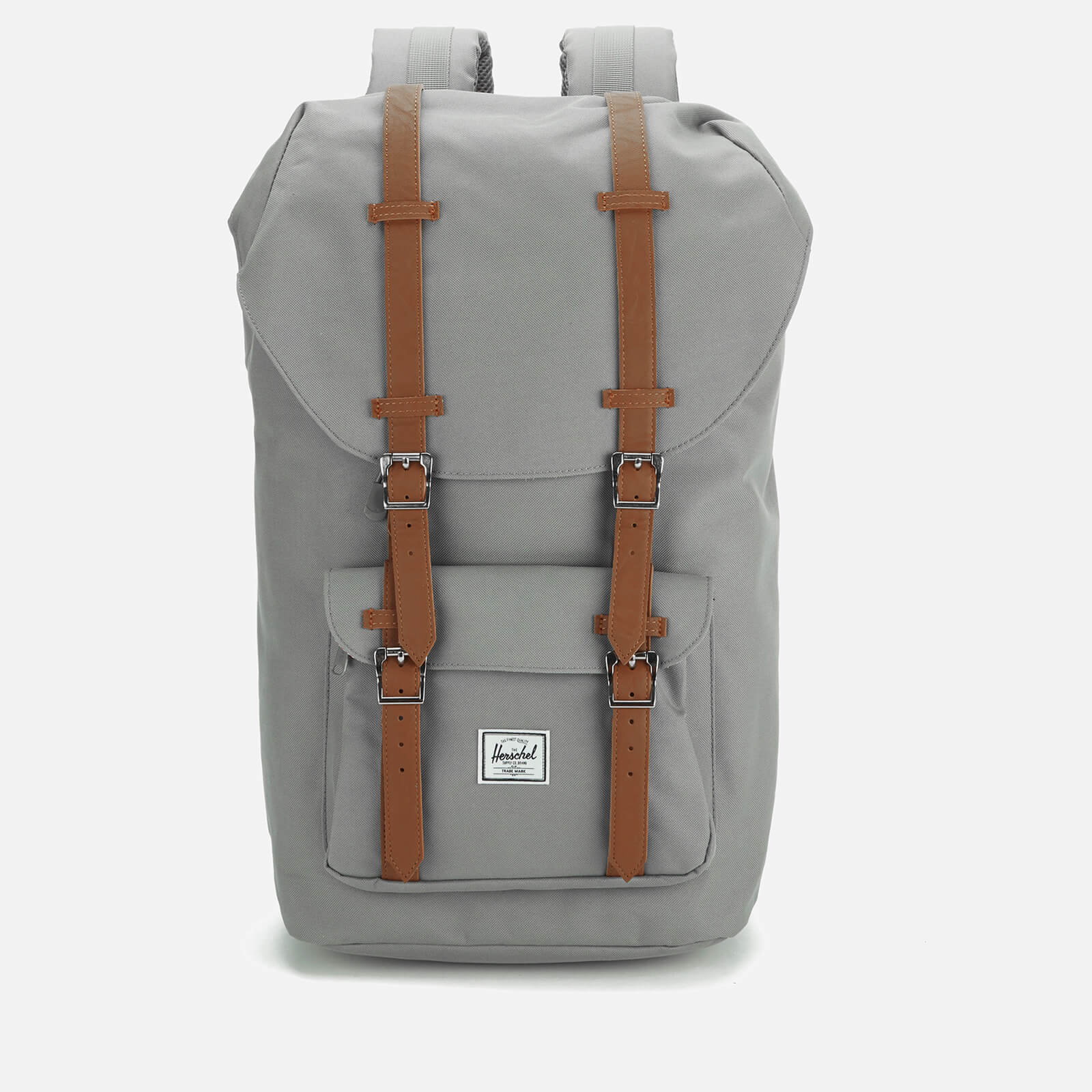 Herschel Supply Co Little America Backpack Grey Tan Synthetic Leather