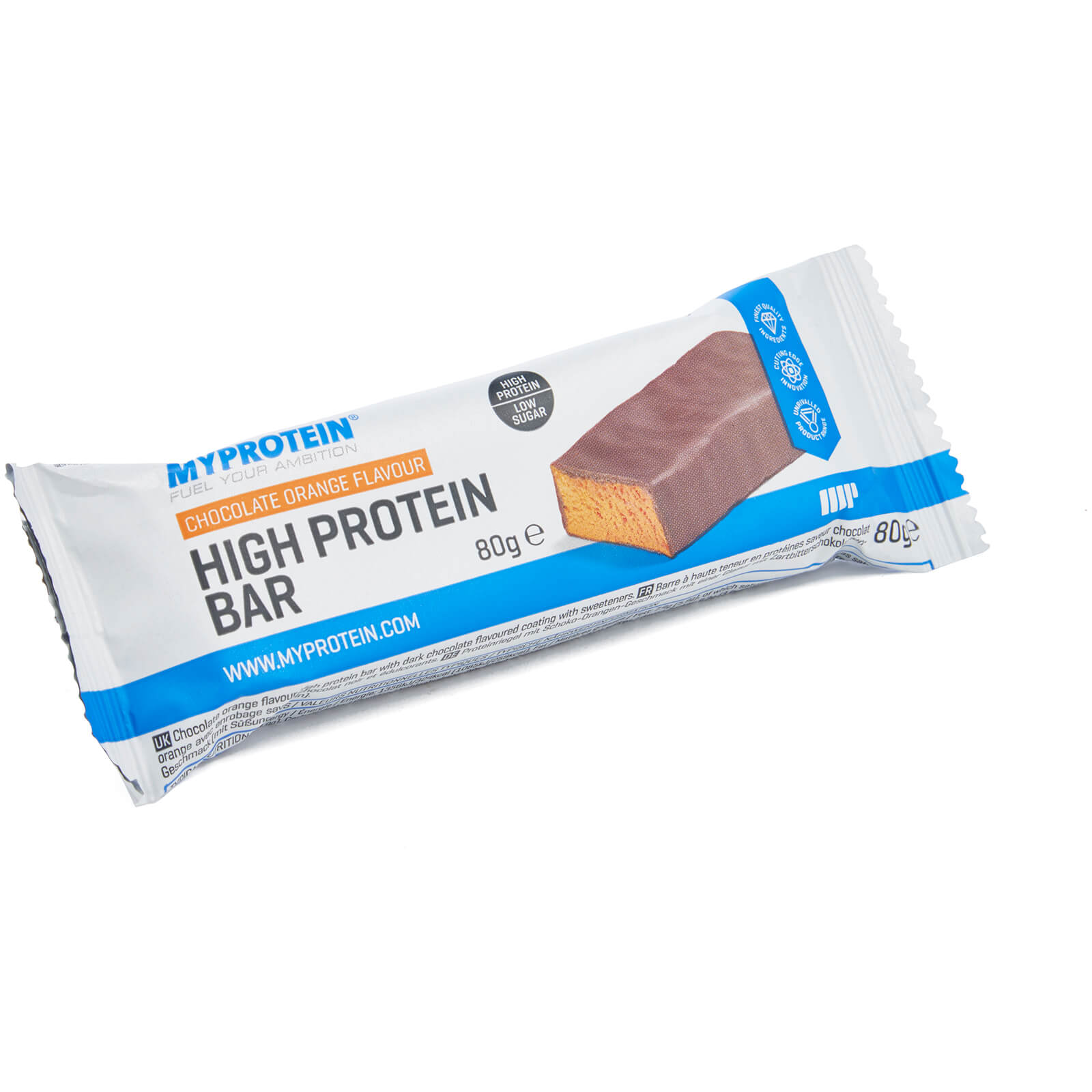 High Protein Bar, Chocolate Orange (Sample), 80g