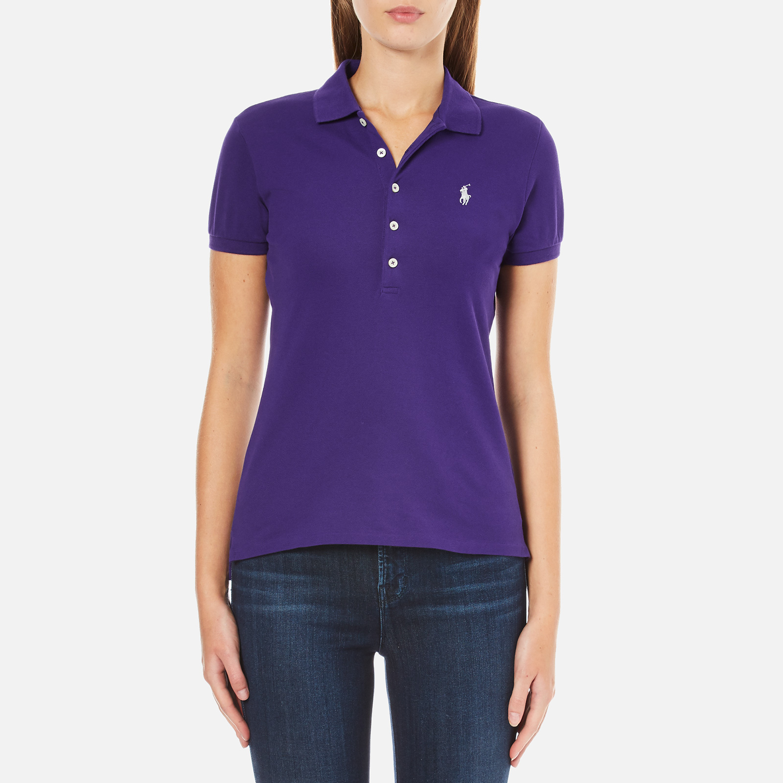 Julie Polo Lauren Shirt Chalet Purple Women's Ralph OliTkXuwPZ