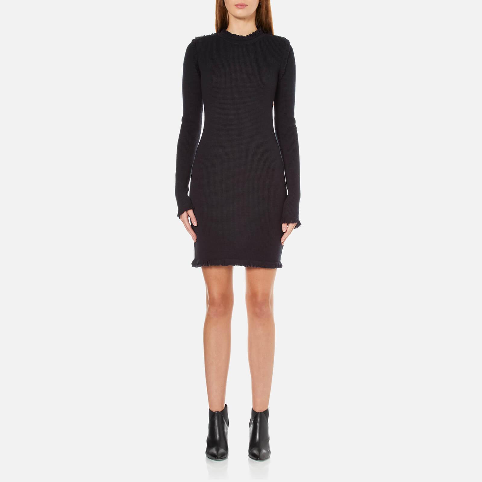 8e7c42606b MICHAEL MICHAEL KORS Women s Fine Fringe Dress - Navy - Free UK Delivery  over £50