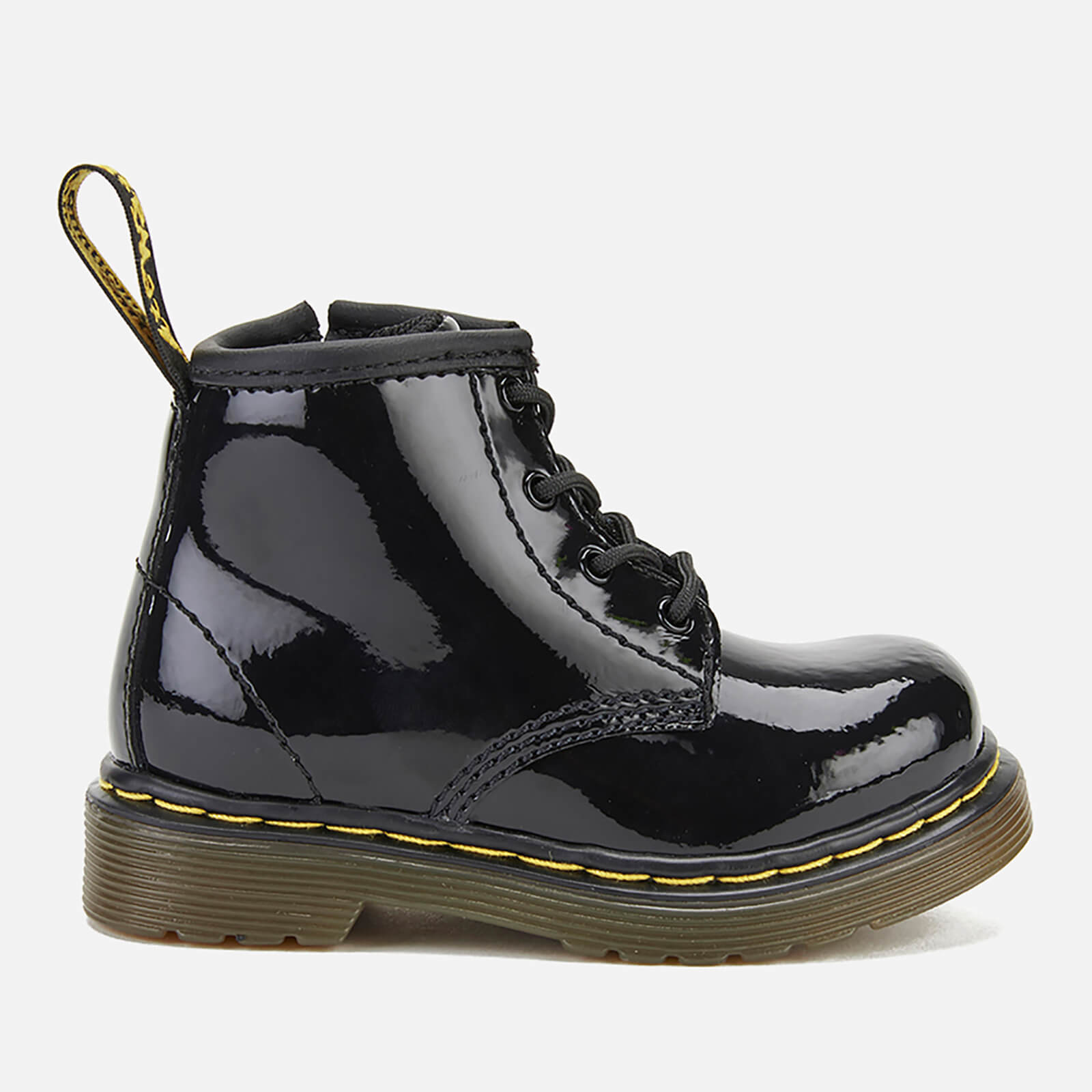 ce42ab8bb666d Dr. Martens Toddlers' 1460 I Patent Lamper Lace Up Boots - Black | FREE UK  Delivery | Allsole