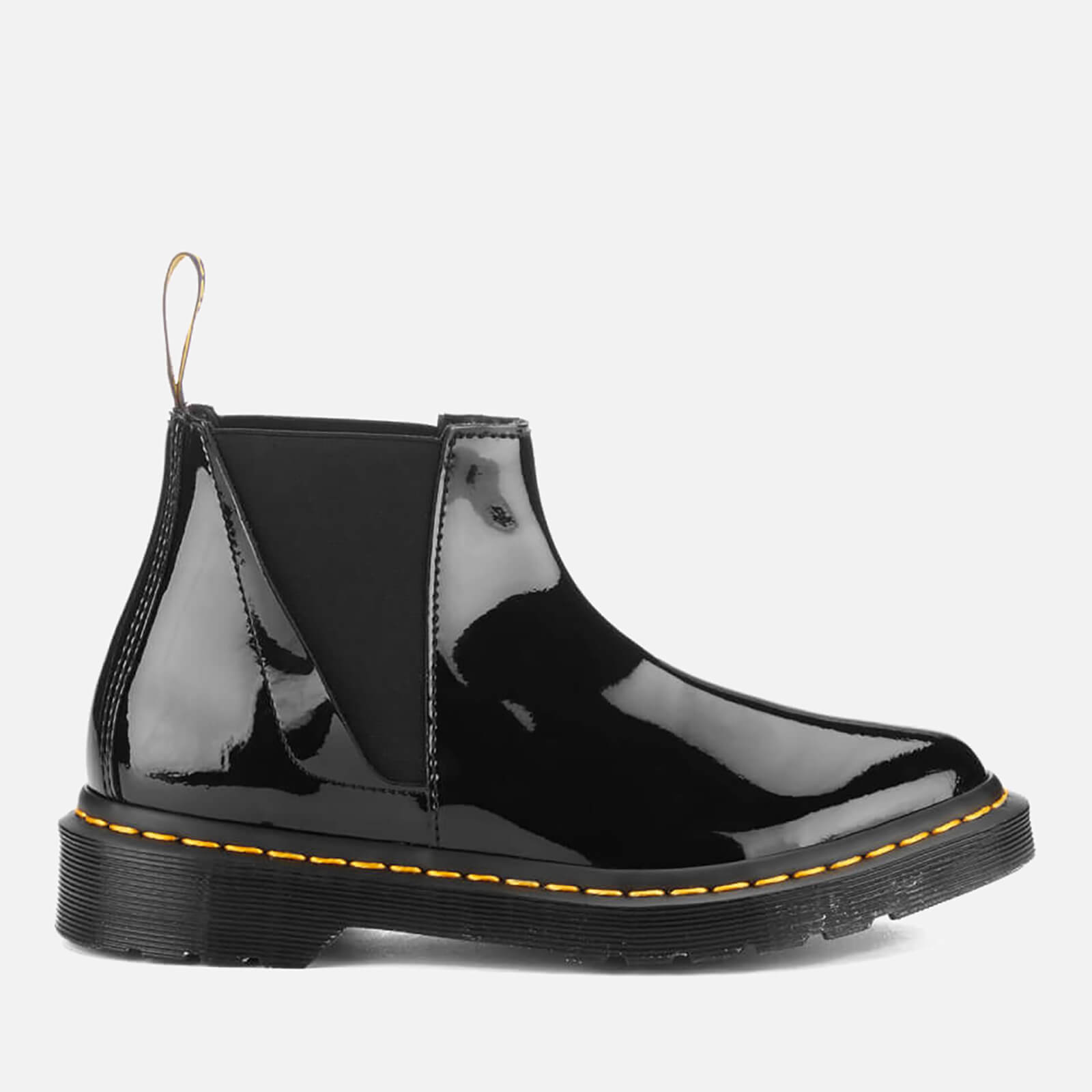 aceccb71a83 Dr. Martens Women's Pointed Bianca Patent Lamper Chelsea Boots - Black