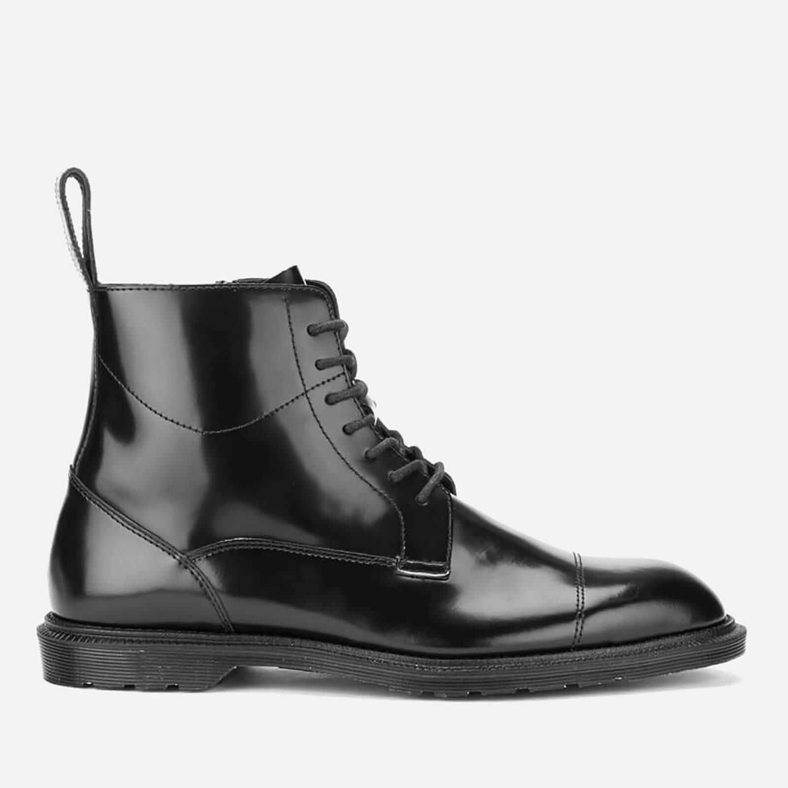 Dr. Martens Herren Winchester Black Polished Smooth Stiefel