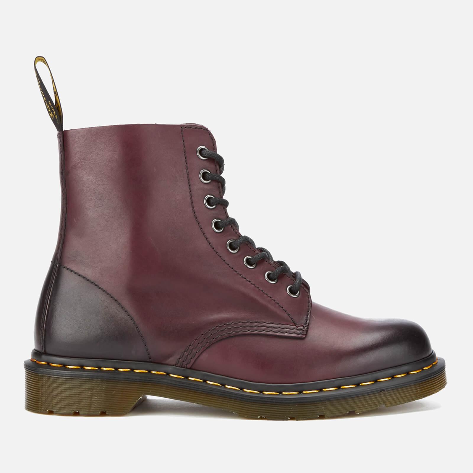 f08da6247cebb Dr. Martens Men's 1460 Pascal Antique Temperley Leather 8-Eye Boots - Cherry  Red Mens Footwear | TheHut.com