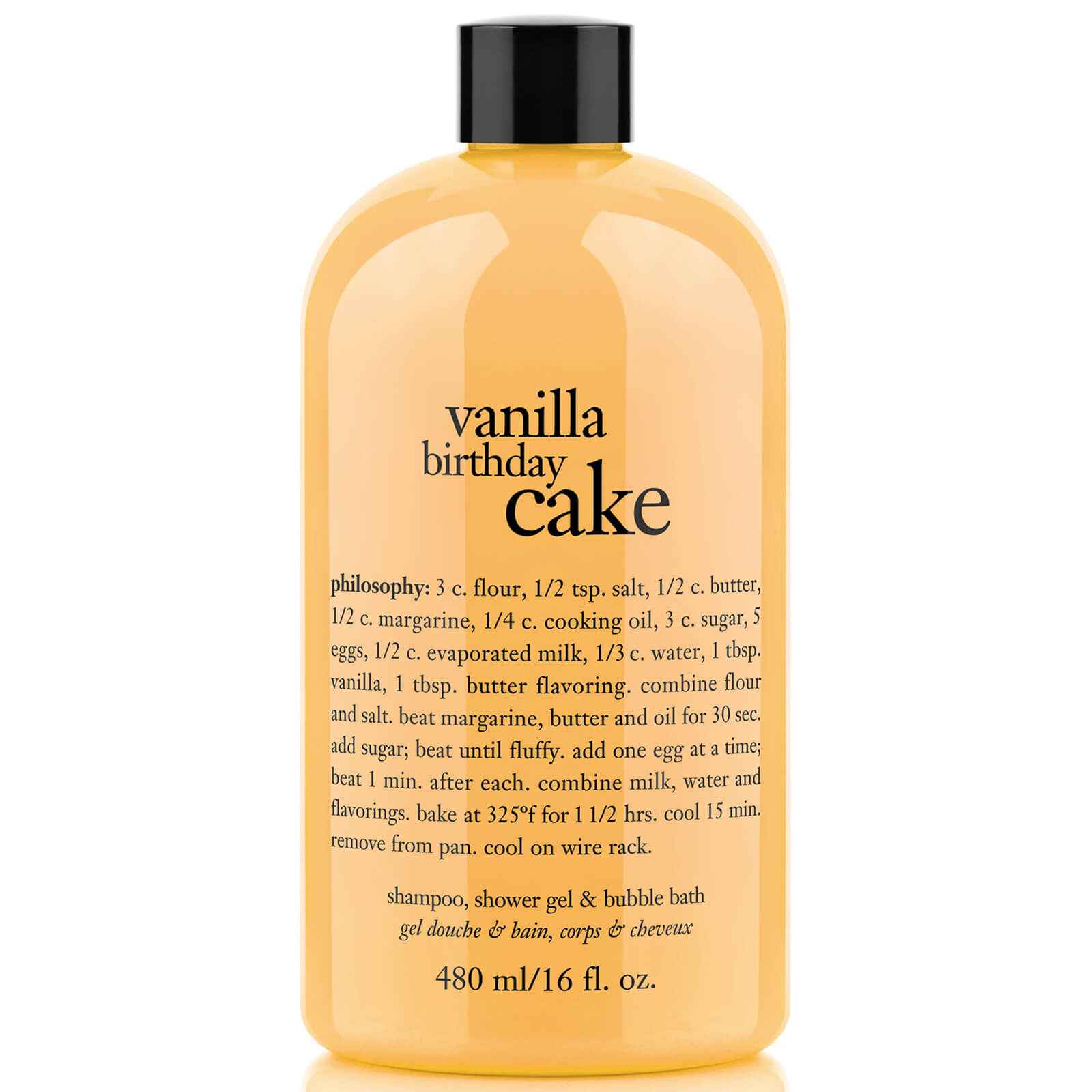 Philosophy Vanilla Birthday Cake Shampoo Bath Shower Gel