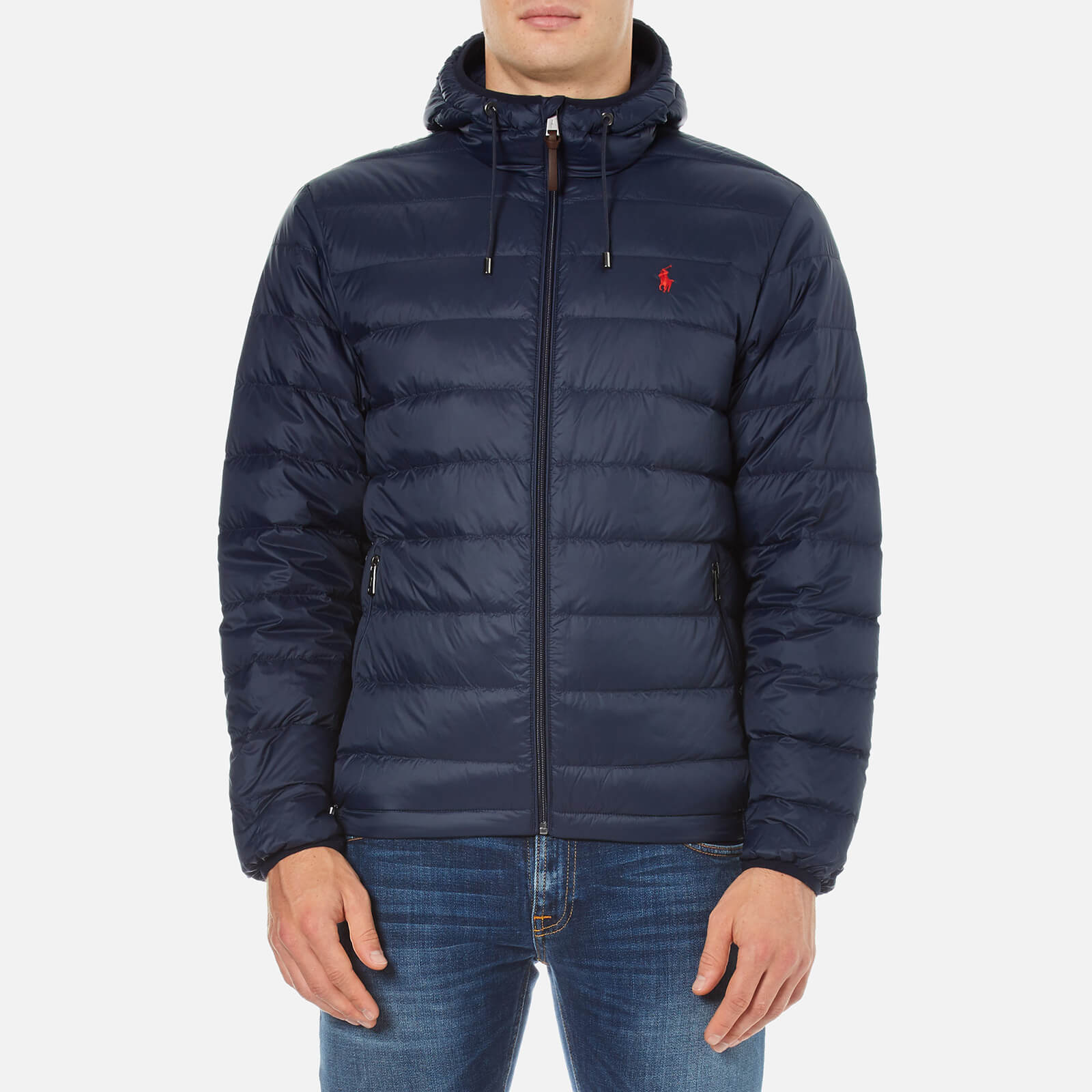 31e871de88947 Polo Ralph Lauren Men's Core Nylon Packable Down Jacket - Aviator Navy