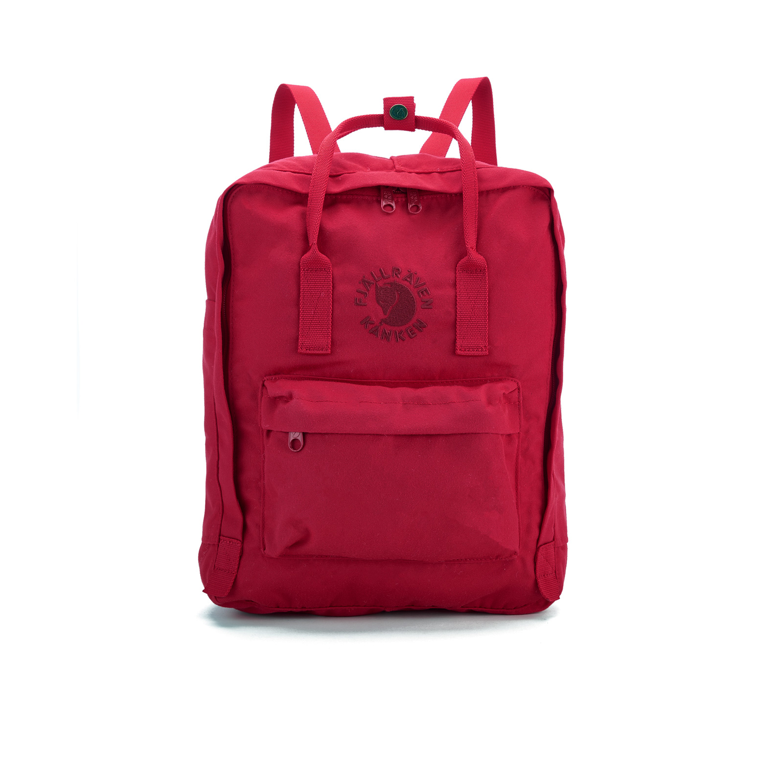 no sale tax meet authentic quality Fjallraven Re-Kanken Backpack - Red