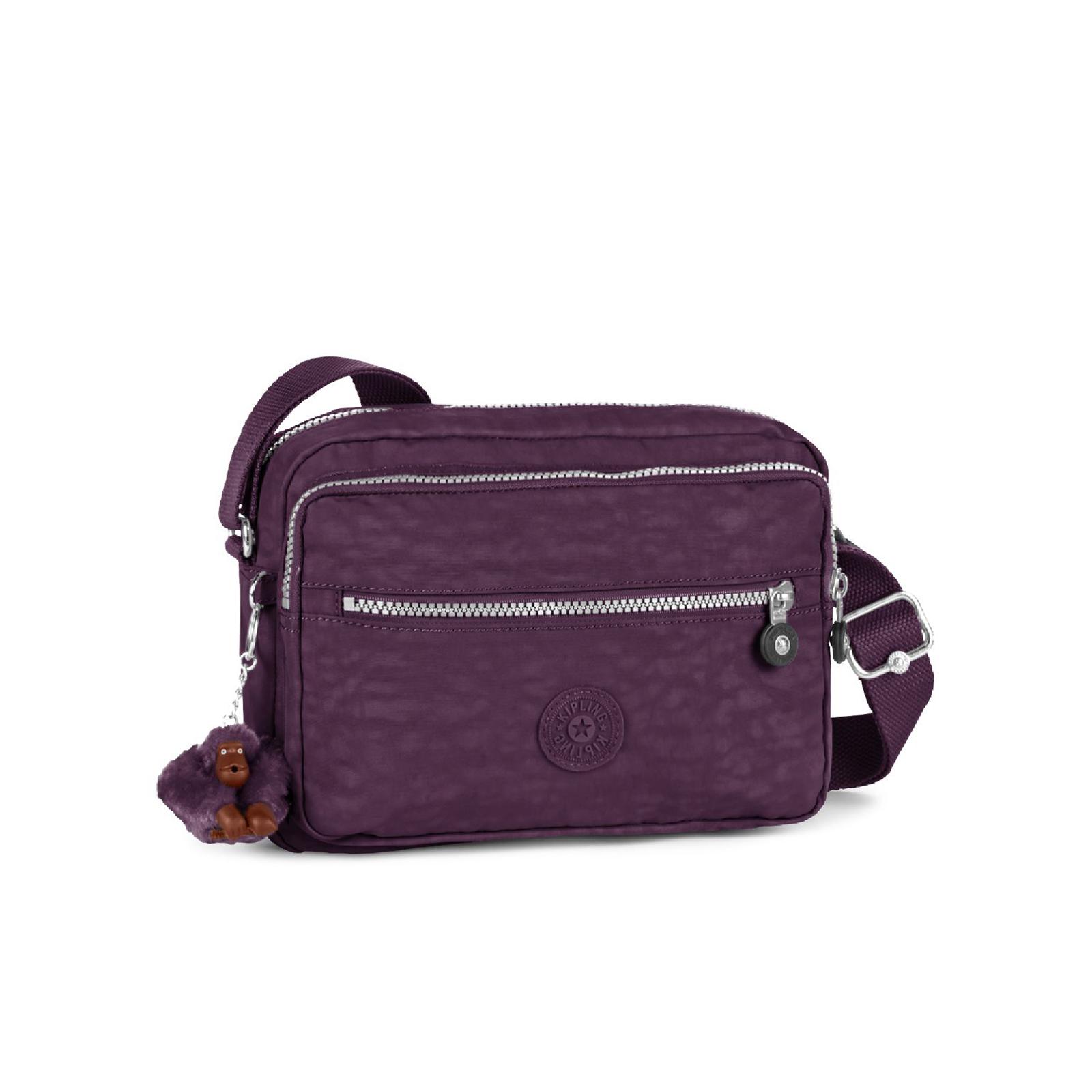 47f104e02 Kipling Women's Deena Medium Cross Body Bag - Plum Purple