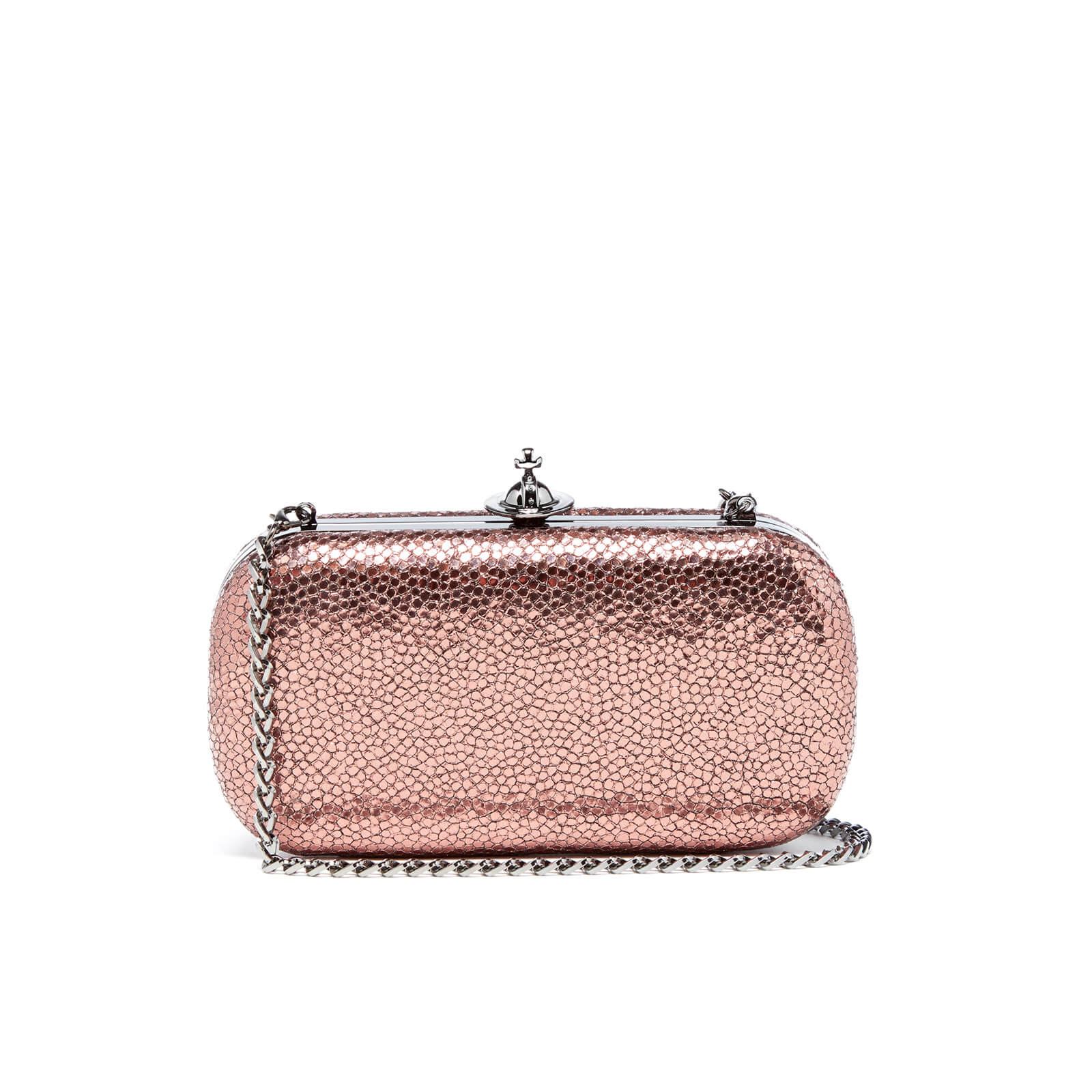 4018dc298 Vivienne Westwood Women's Verona Medium Clutch Bag - Pink - Free UK  Delivery over £50