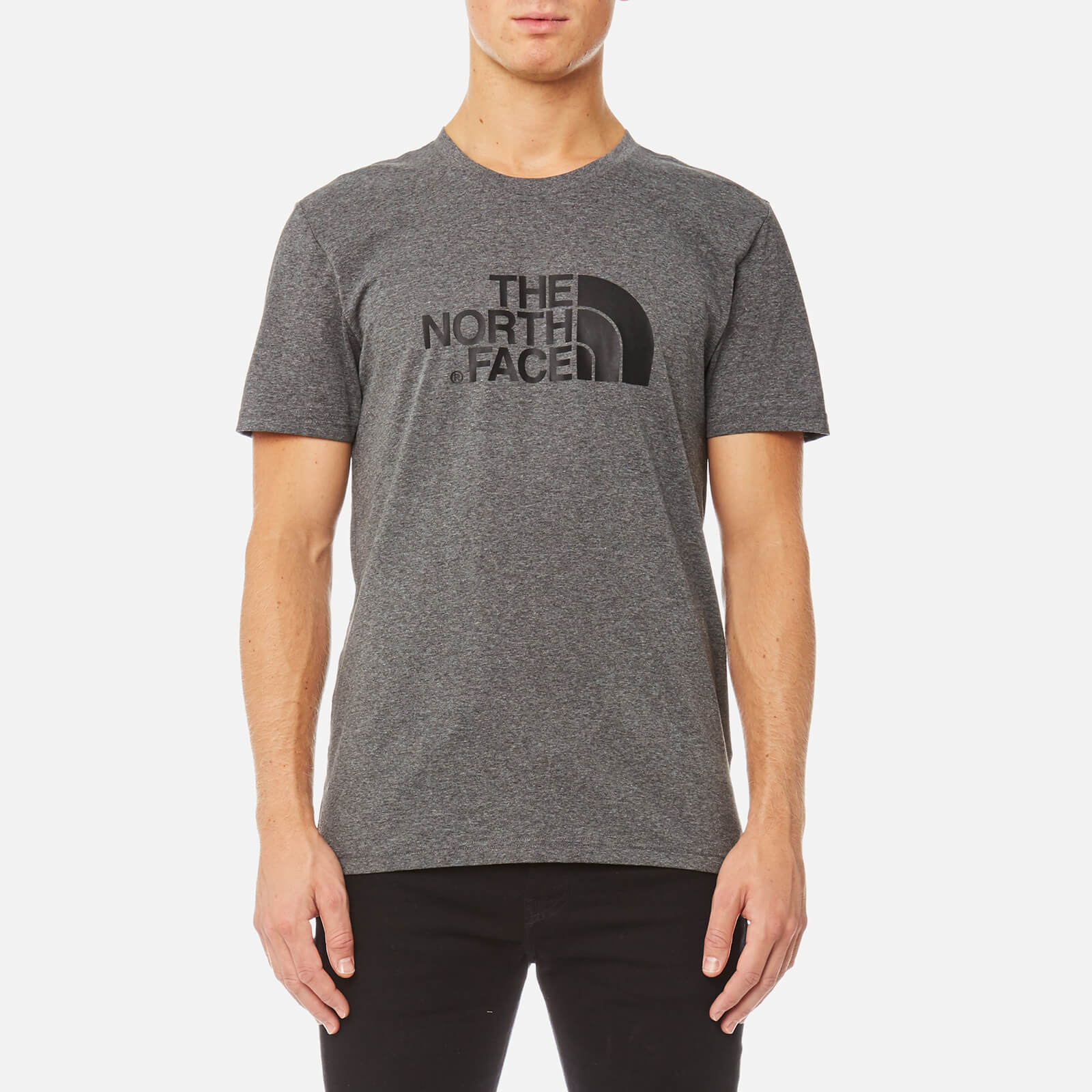 f1e25c3aacf7a The North Face Men s Easy T-Shirt - TNF Medium Grey Heather Mens Clothing