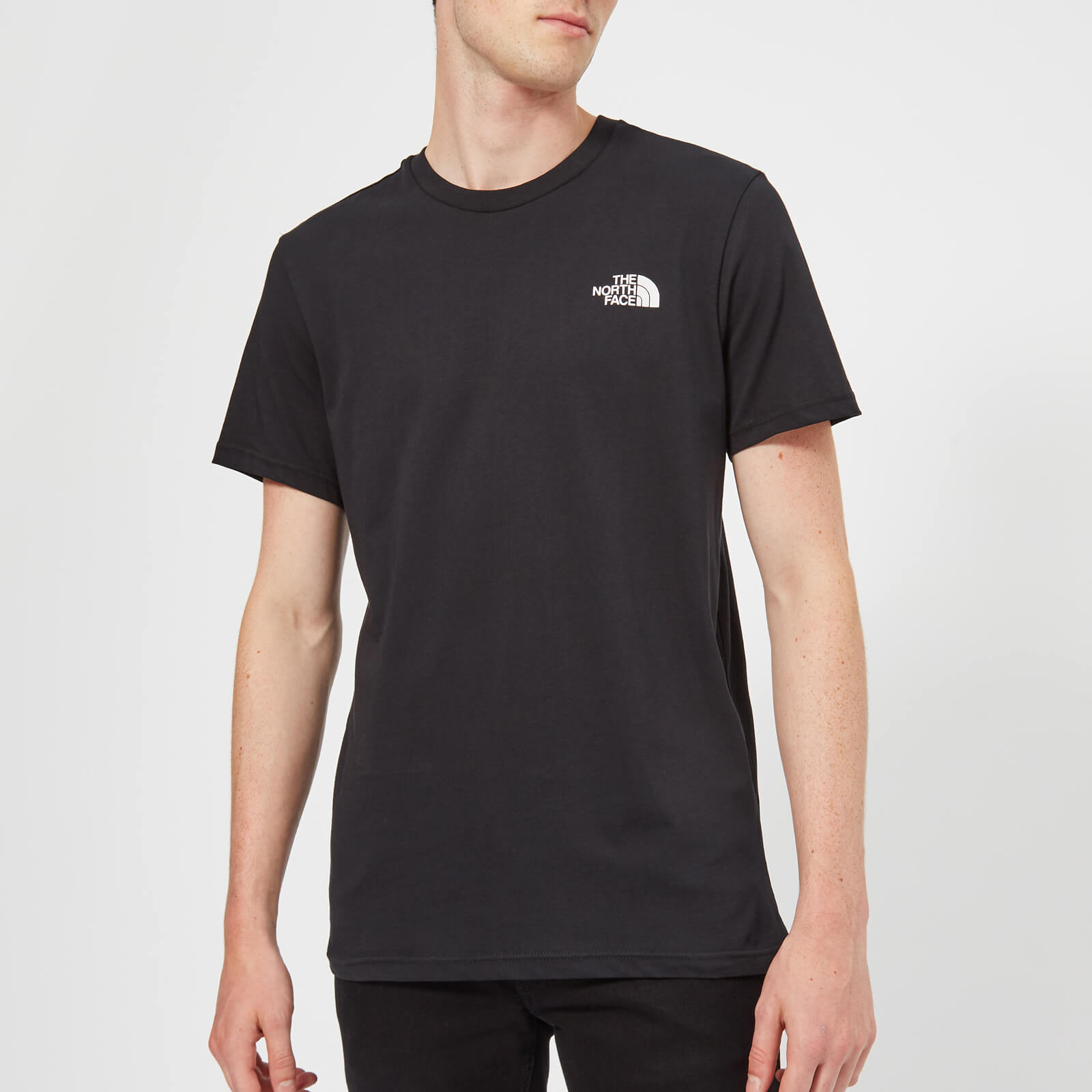 6b82a83be The North Face Men's Short Sleeve Simple Dome T-Shirt - TNF Black