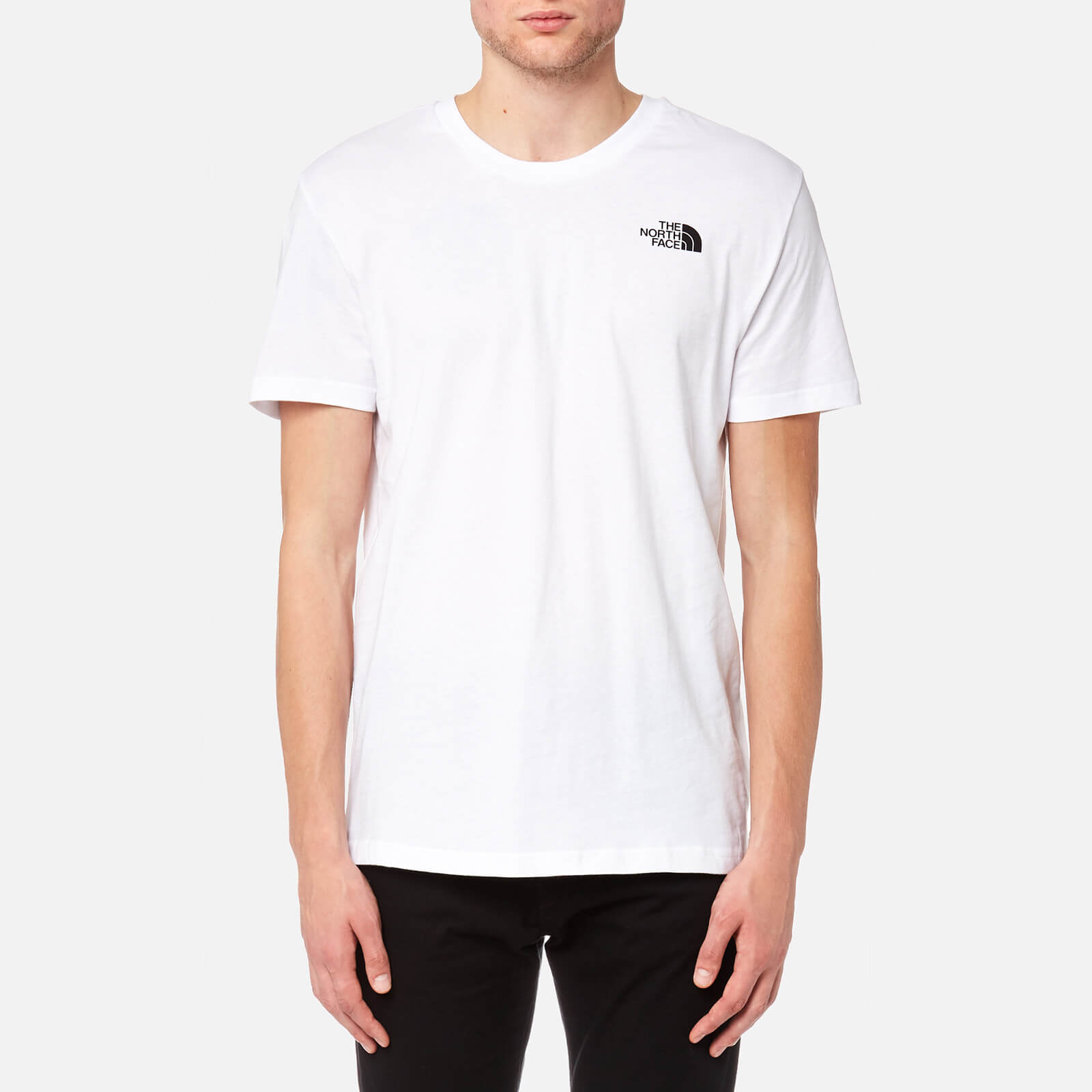 fe0e3c1f9 The North Face Men's Simple Dome Short Sleeve T-Shirt - TNF White