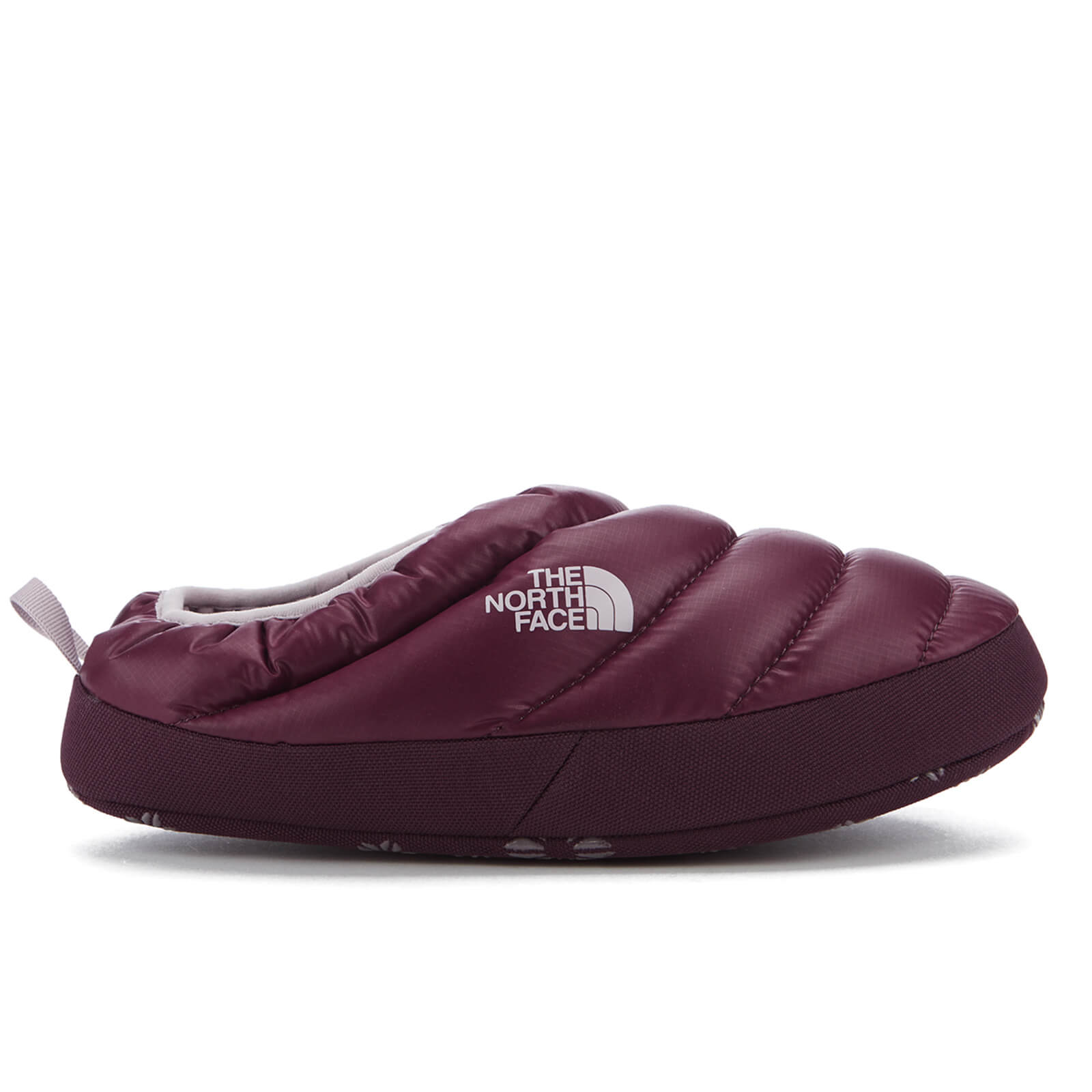 3551280c1da The North Face Women s NSE Tent Mule Faux Fur II Slippers - Shiny Deep  Garnet Red Clothing