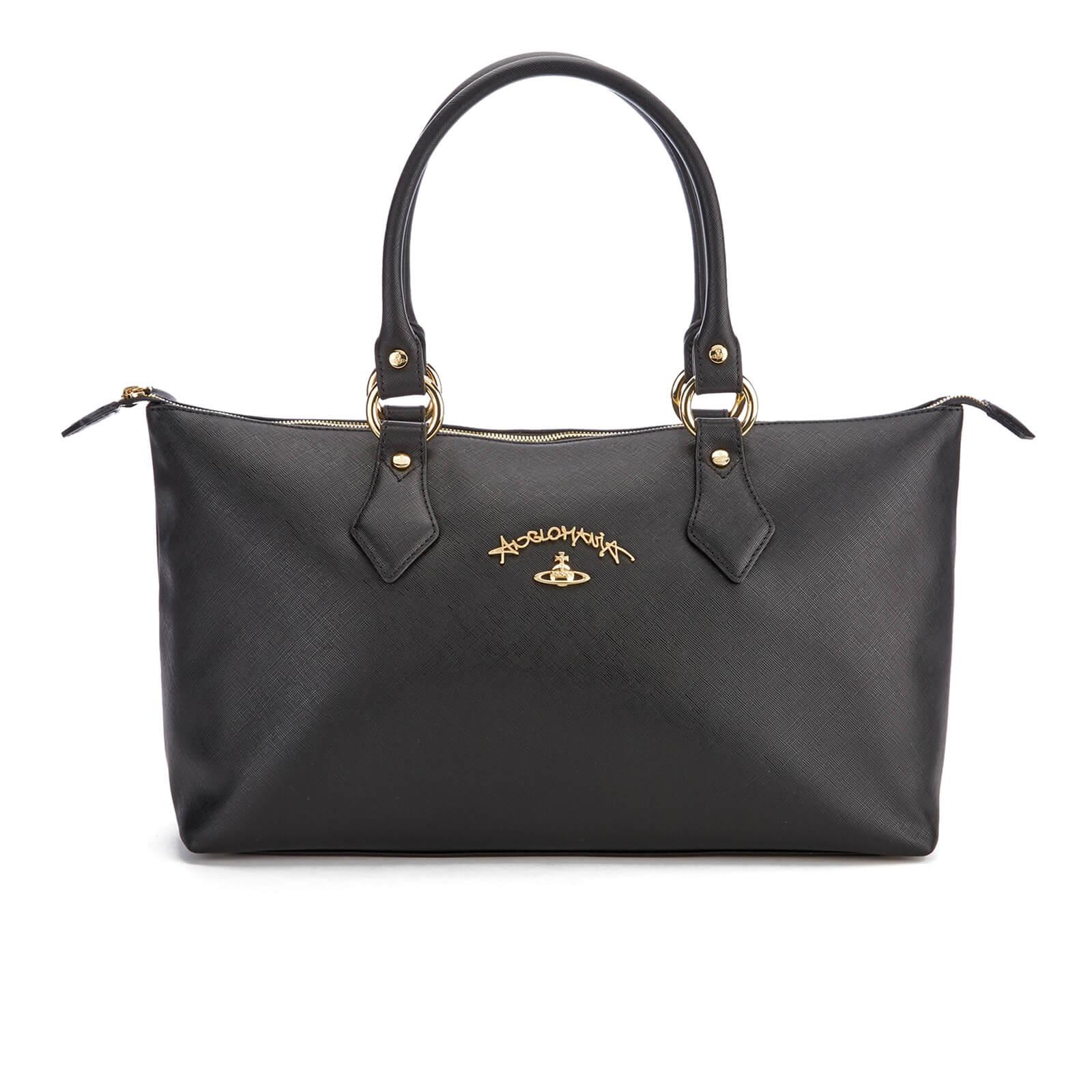 8b0abc5d21 Vivienne Westwood Women's Divina Tote Bag - Black - Free UK Delivery over  £50