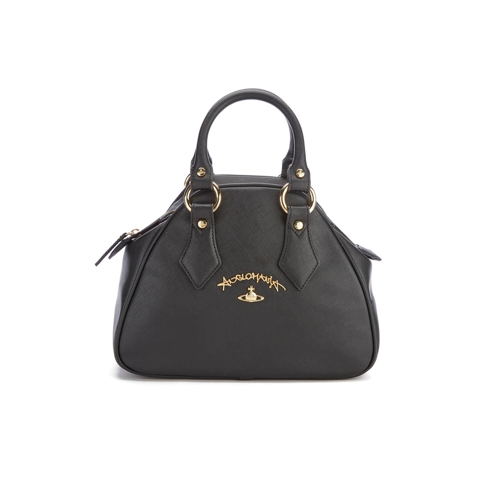 ec2cd43154 Vivienne Westwood Women s Divina Small Tote Bag - Black - Free UK ...