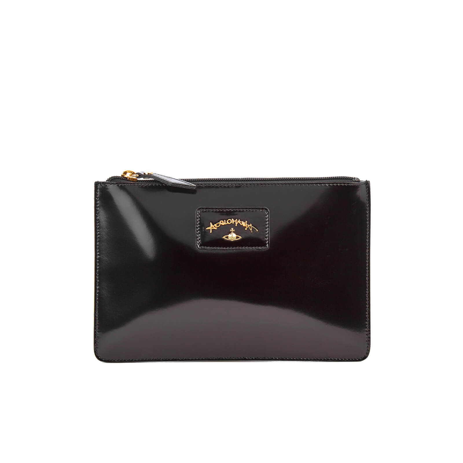 679b219772f5 Vivienne Westwood Women s Newcastle Clutch Bag - Black - Free UK ...