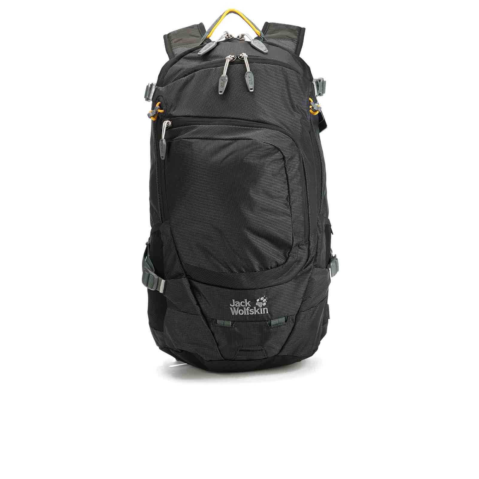 ogromny wybór eleganckie buty dobry Jack Wolfskin Crosser 18 Backpack - Black