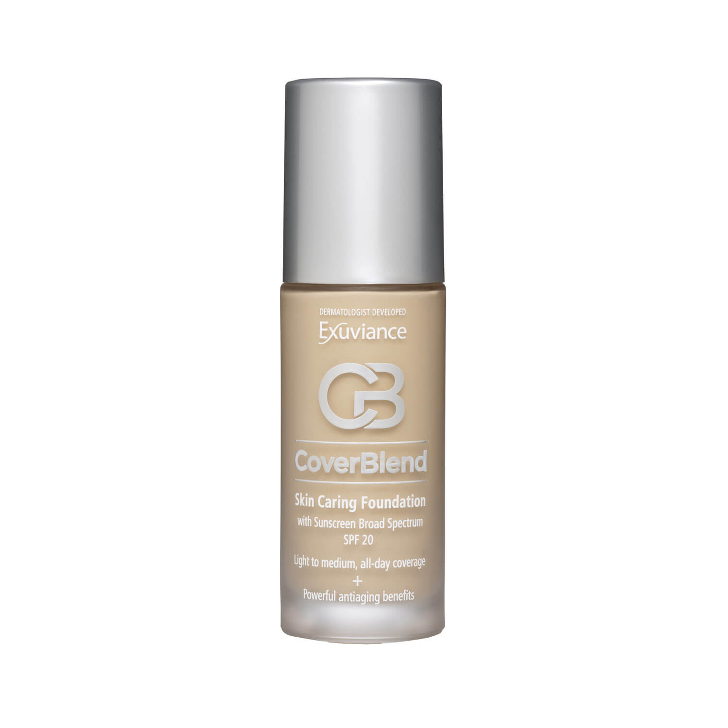 exuviance foundation warm beige